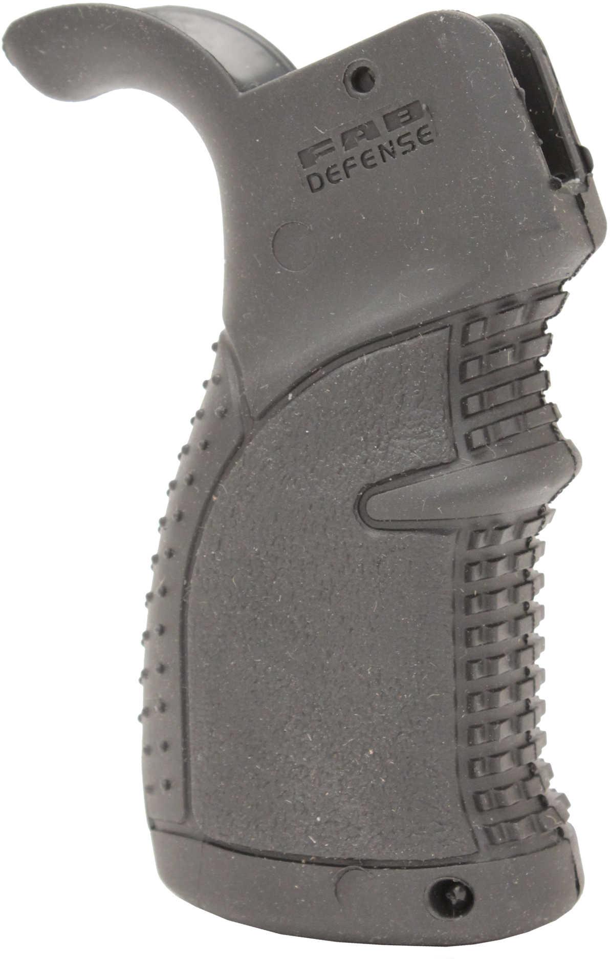 Mako Group Rubberized Ergonomic Pistol Grip for AR15 Black AGR-43-B