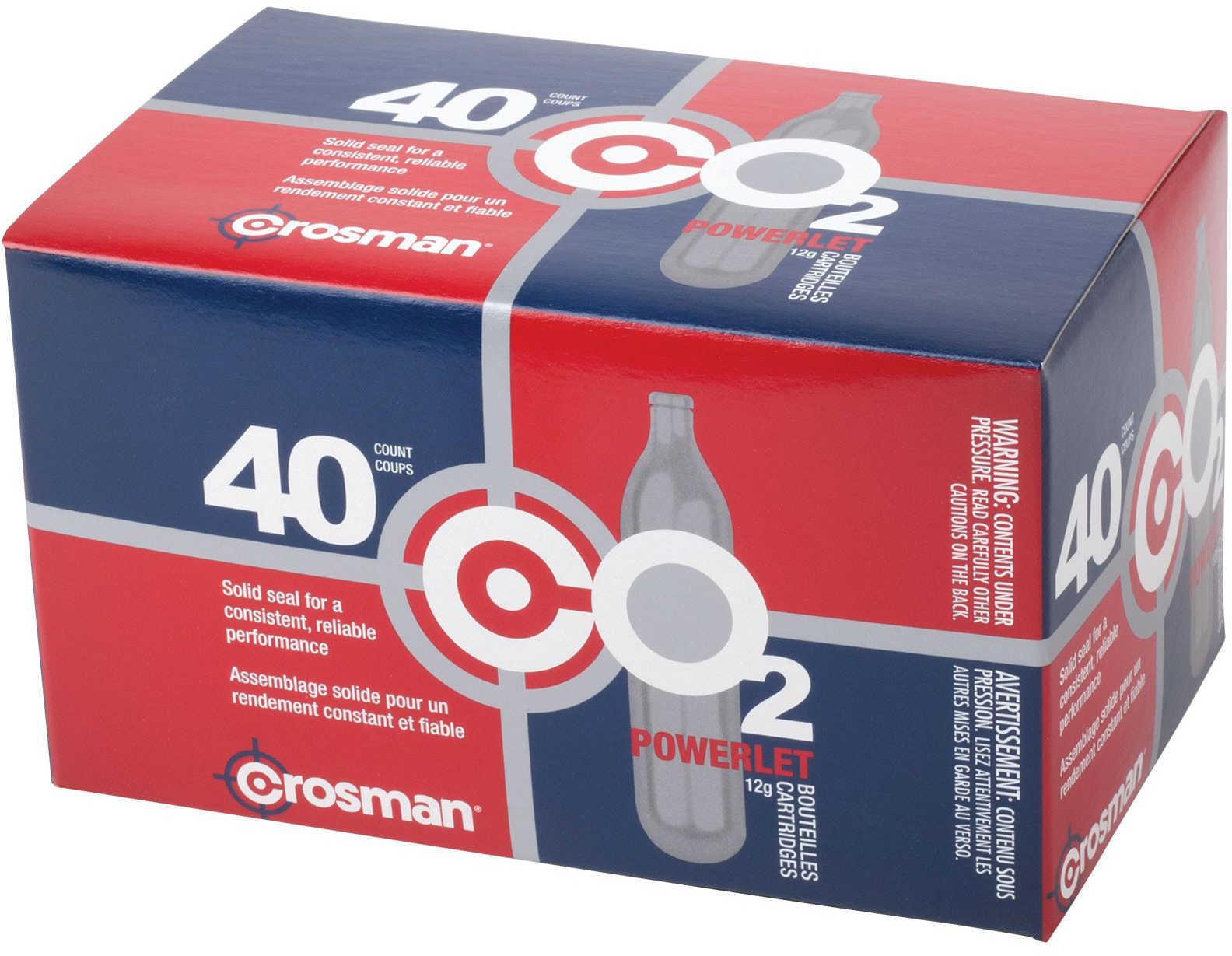 Crosman Co2 Cylinder 40CT 23140
