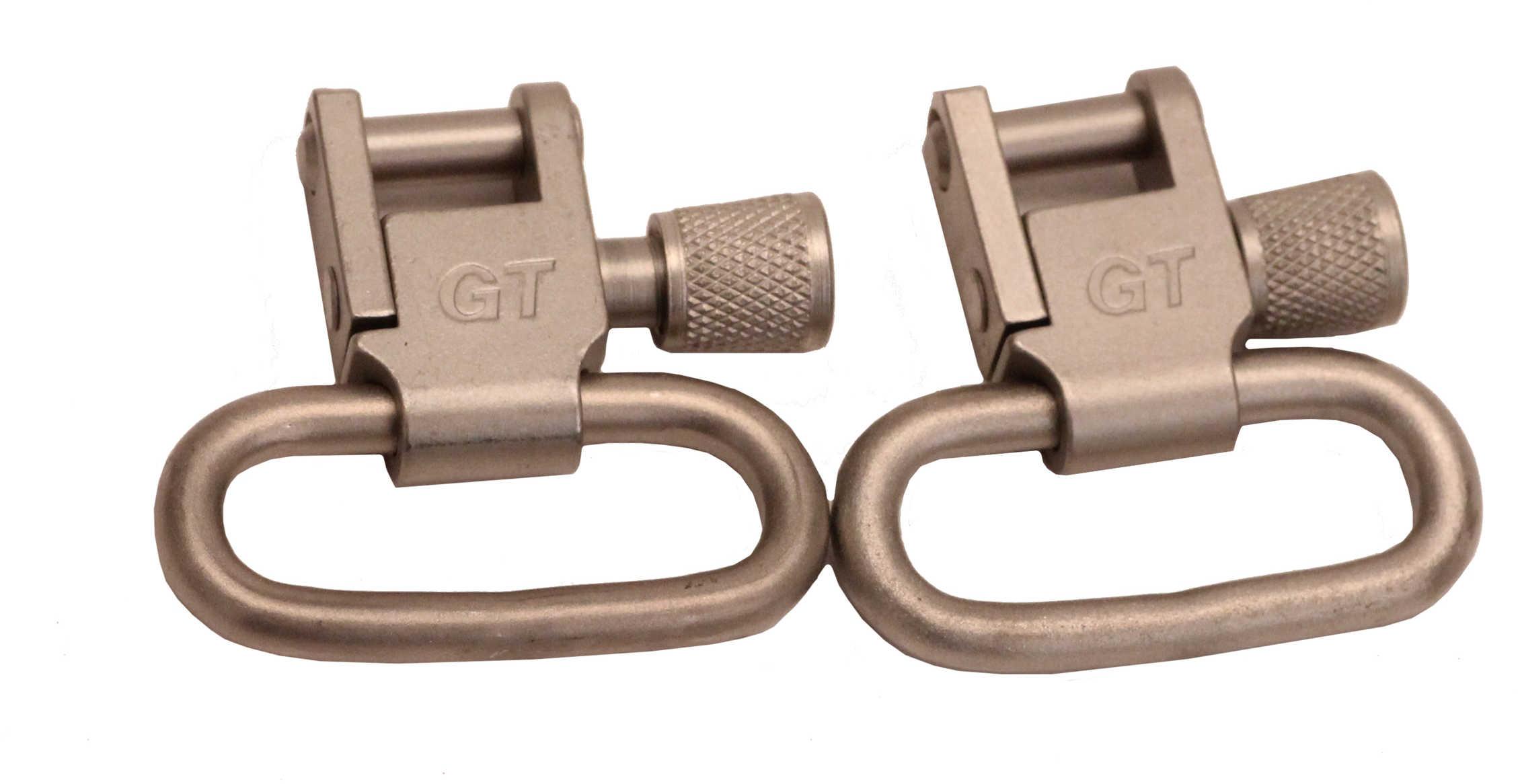 """Grovtec USA Inc. GROVTEC Swivel 1"""" Pair Nickel Locking SW03"""