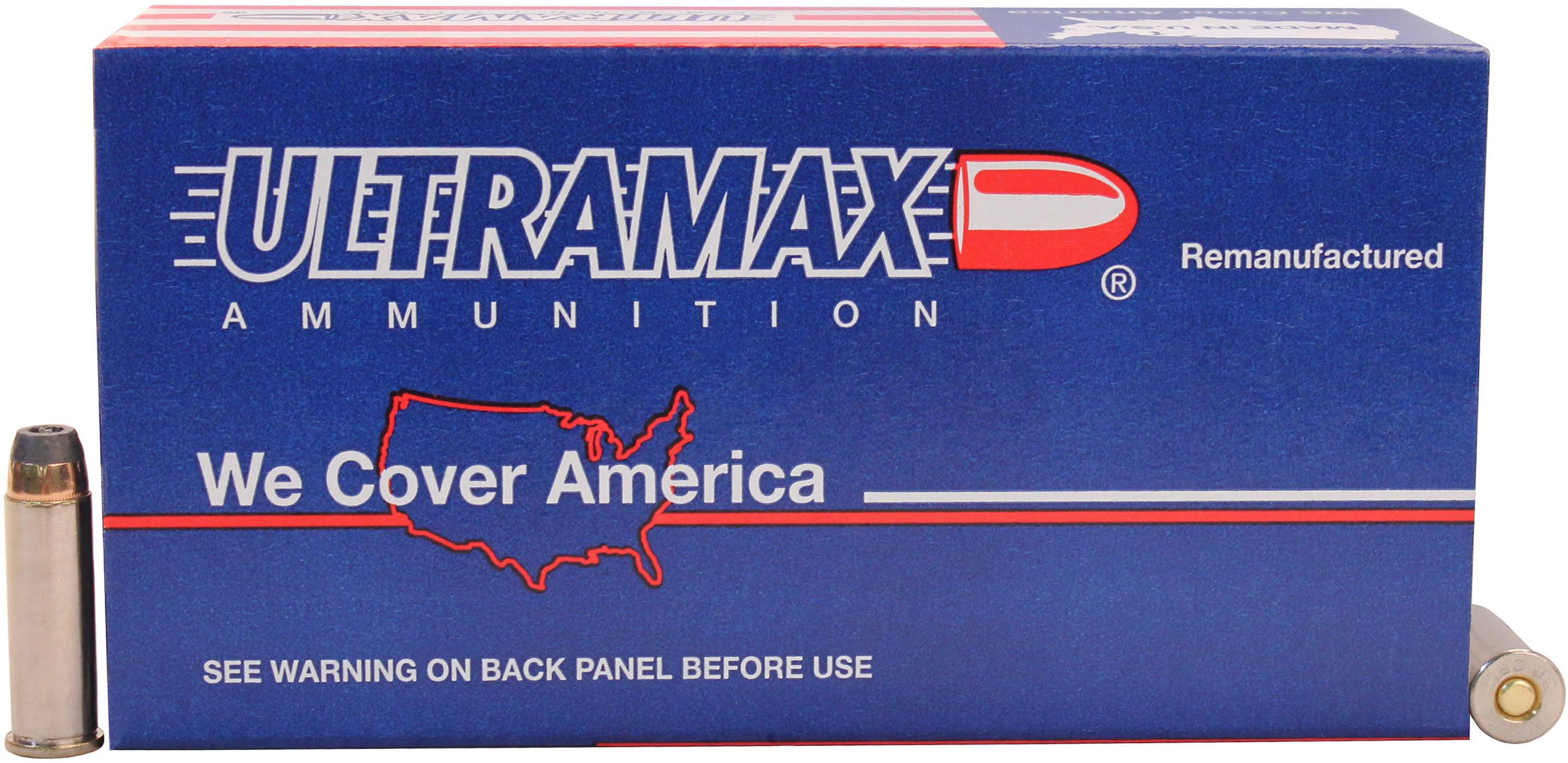 Ultramax 38 SPL 125 Grains JHP Ammunition 38R6