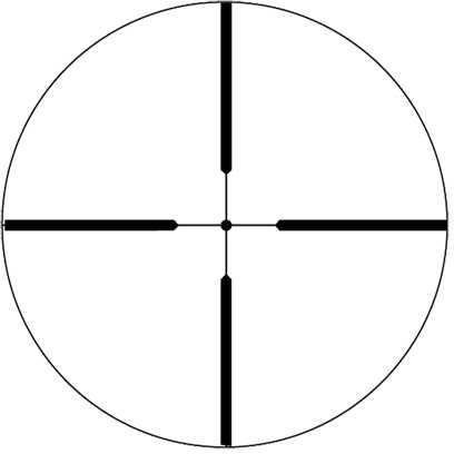 "Weaver 40/44 Rifle Scope 6.5-20X44 1"" Ballistic-X Reticle Adjustable Objective .13in @ 100yd Matte Finish 849552"