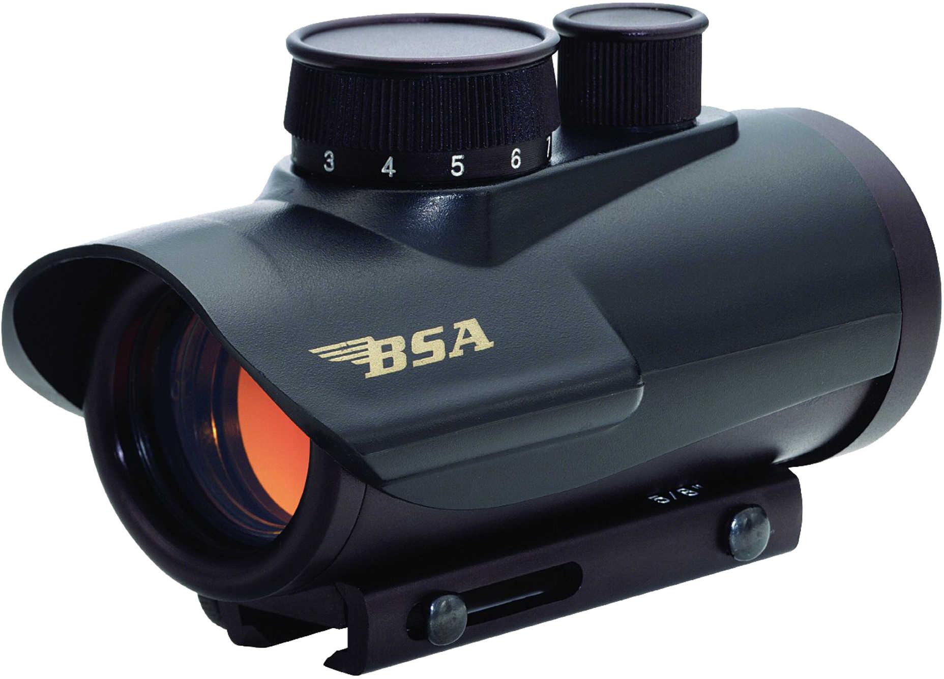 BSA Optics Red Dot 42mm 7.5MOA Matte Finish RD42