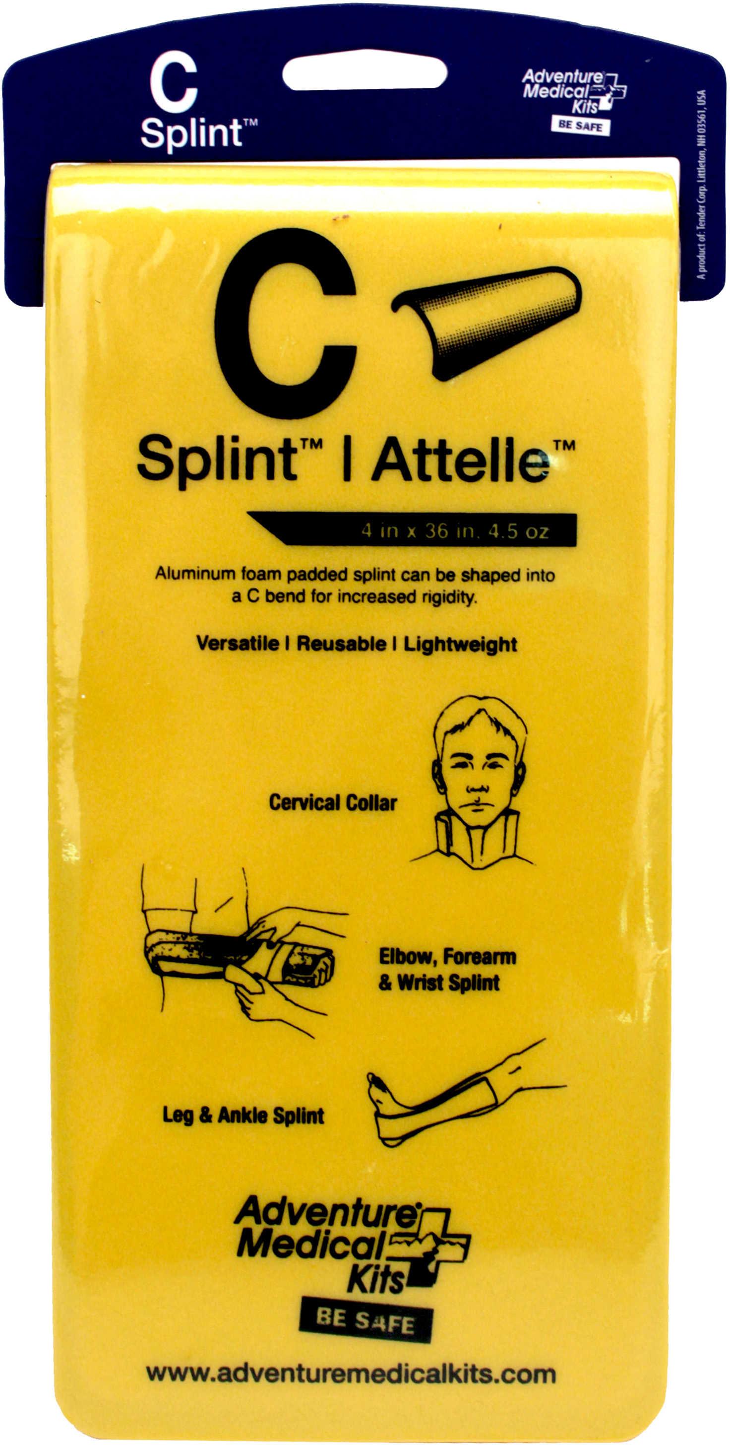 Adventure Medical Kits / Tender Corp Adventure Medical AMK C-Splint 7010-0402