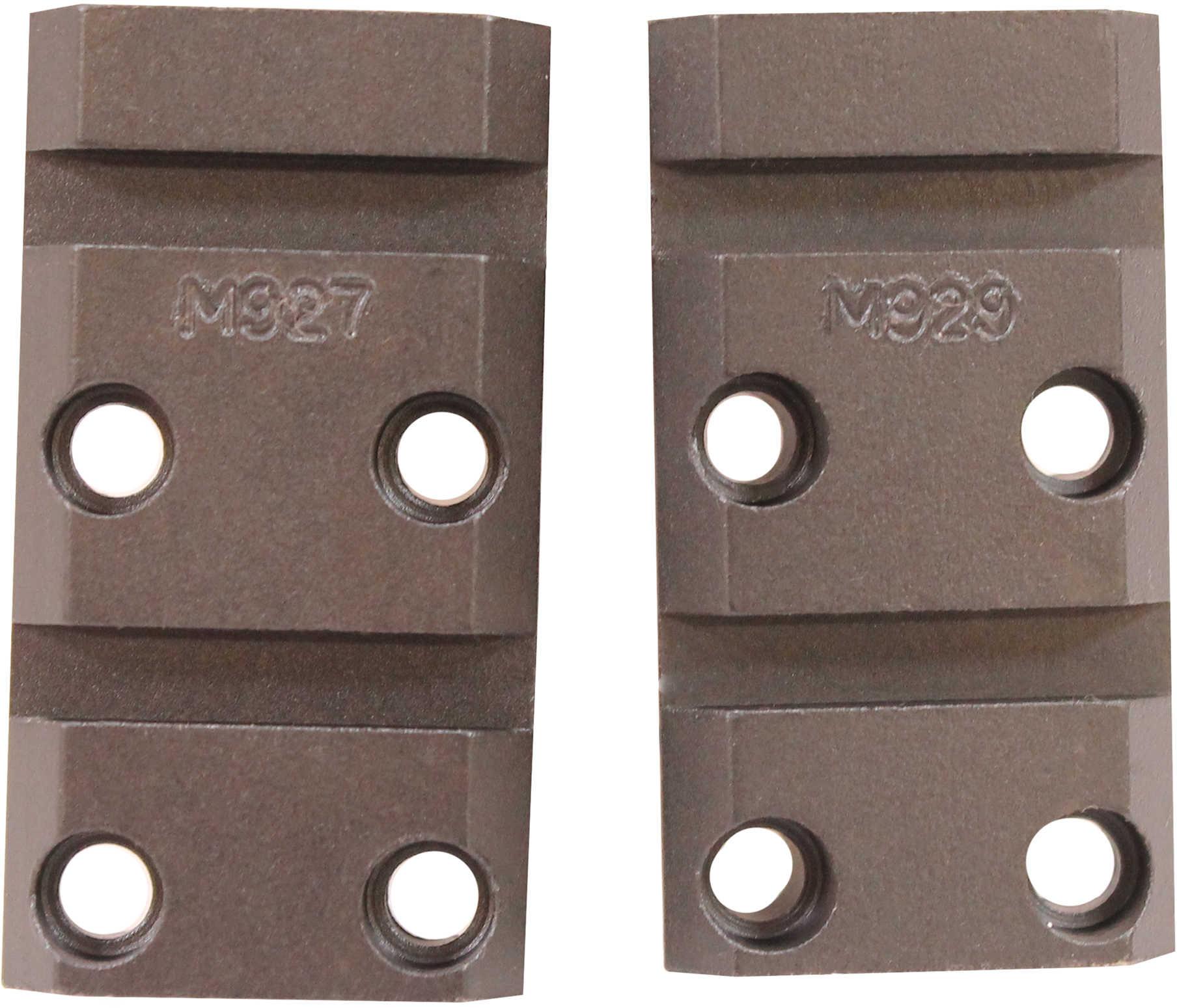 Warne Scope Mounts Maxima 2 Piece Base Fits Browning X-Bolt Matte Finish M927/929M
