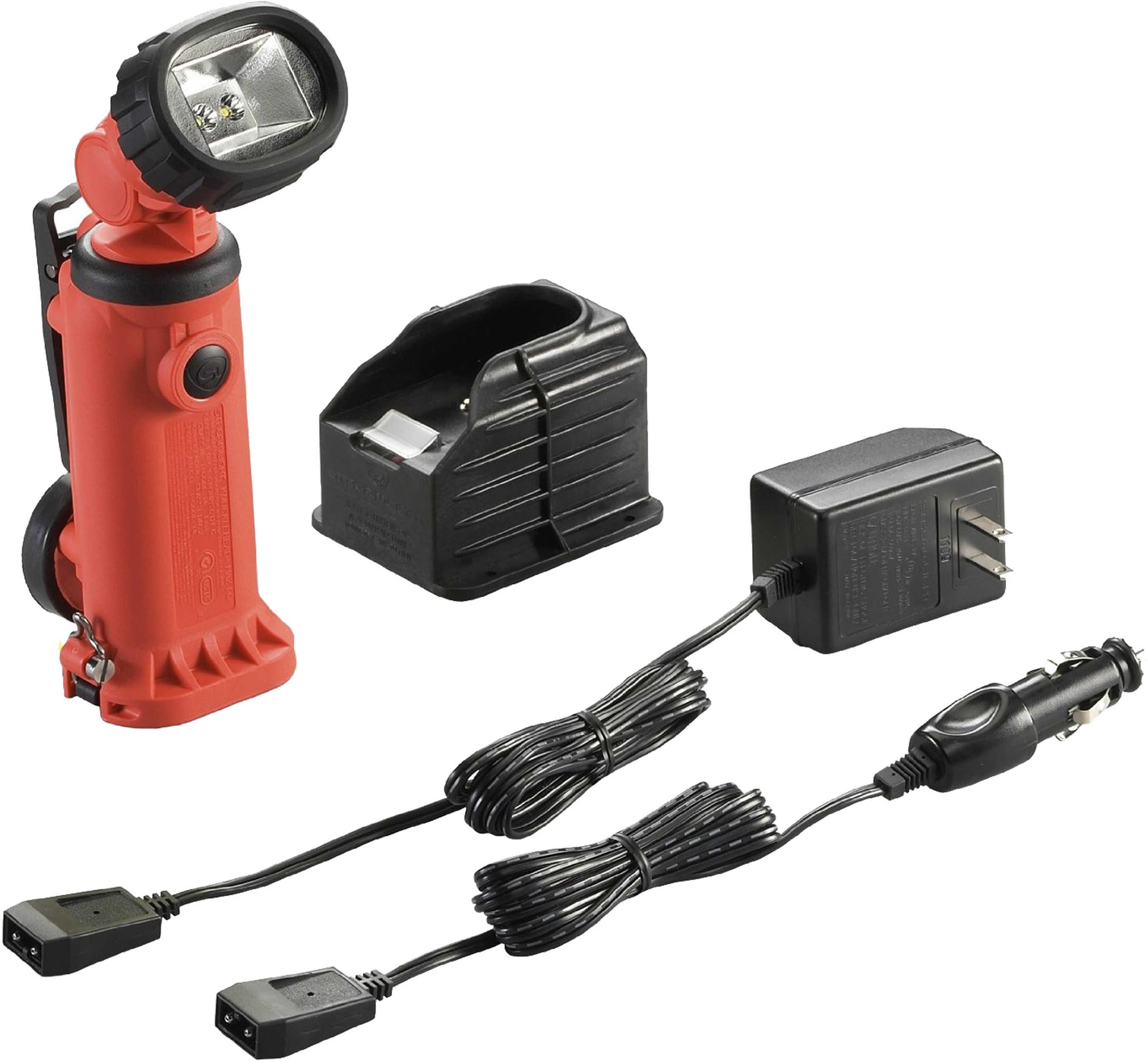 Streamlight Knucklehead HAZ-LO Light Flood 120V AC/12V DC, Orange 91657