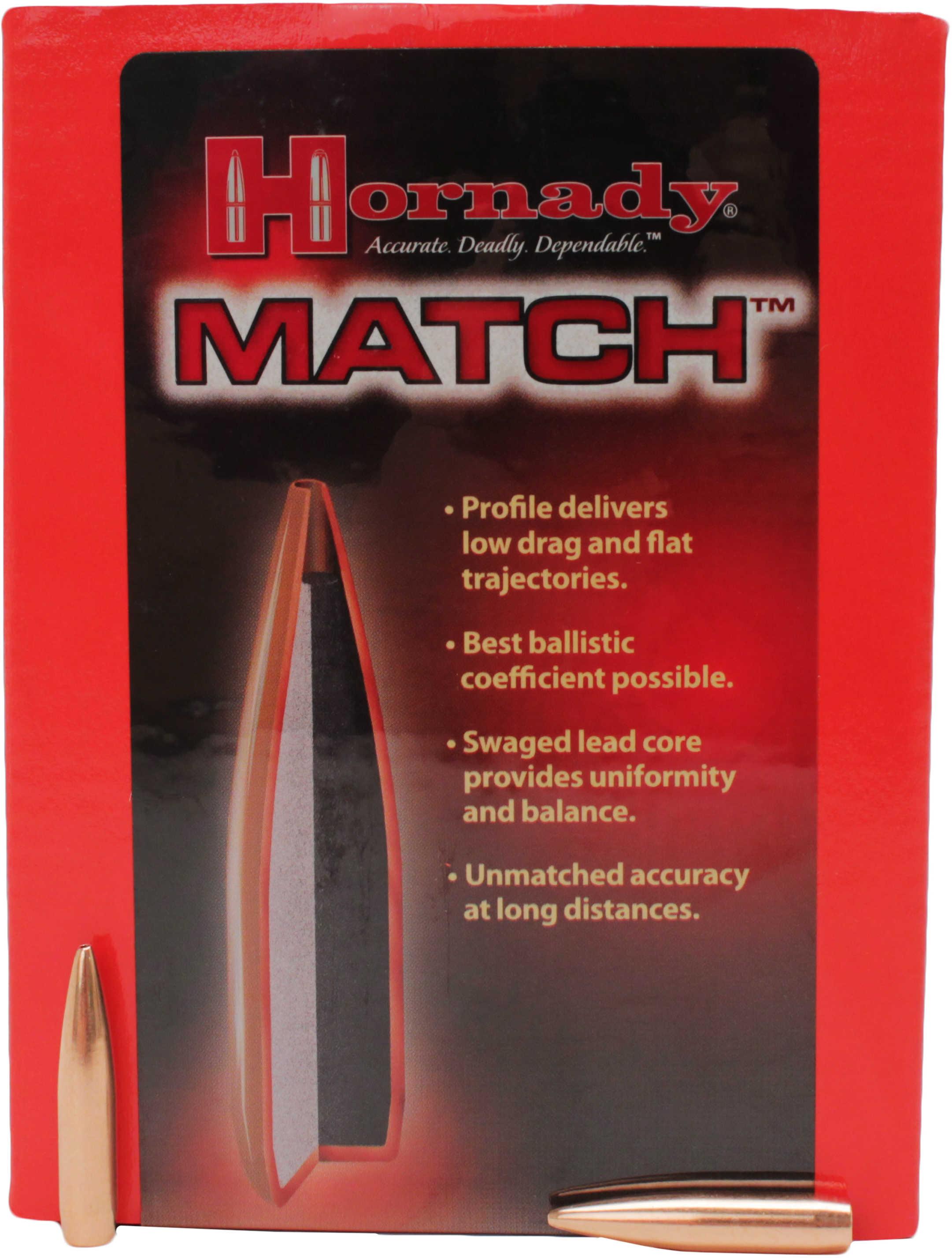 """Hornady 6.5mm Bullets .264"""" 140 Grains BTHP Match(Per 500) 263355"""