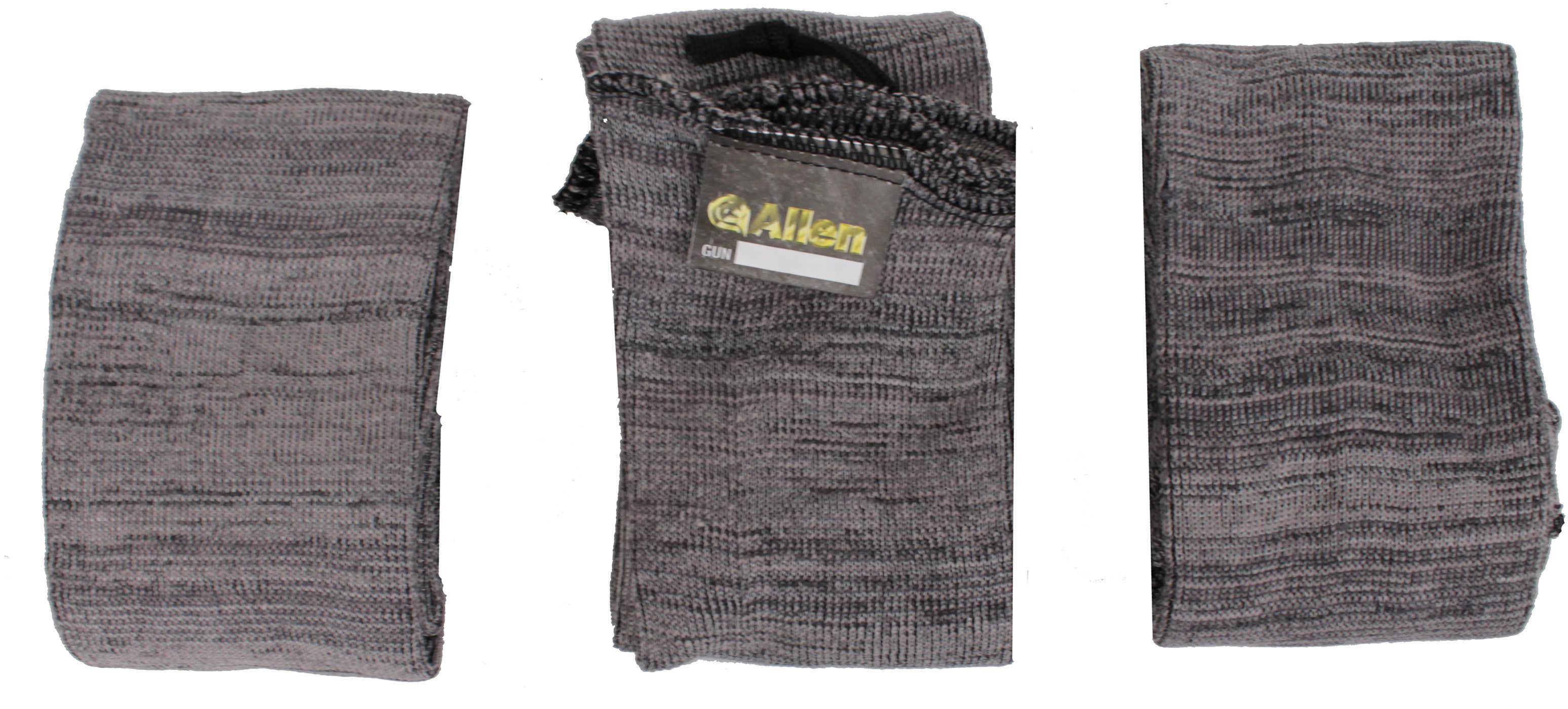 """Allen Knit Gun Sock Gray Soft 52"""" 3 Pack 13130"""