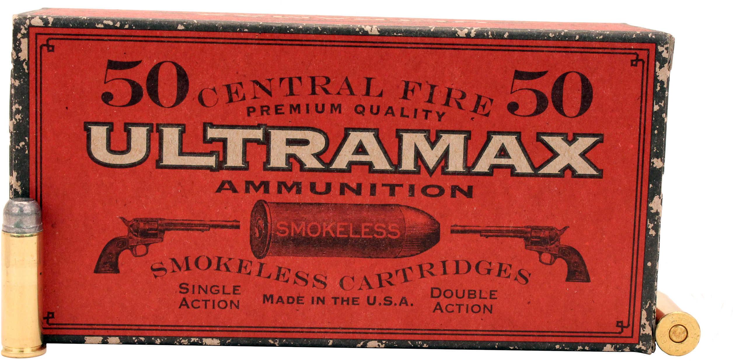Ultramax 38 SPL 158 Grains Rn FP Cowboy Ammunition CB38N2