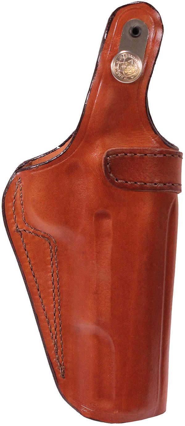Bianchi 3S Pistol Pocket Leather Holster Plain Tan, Size 11, Left Hand 13764