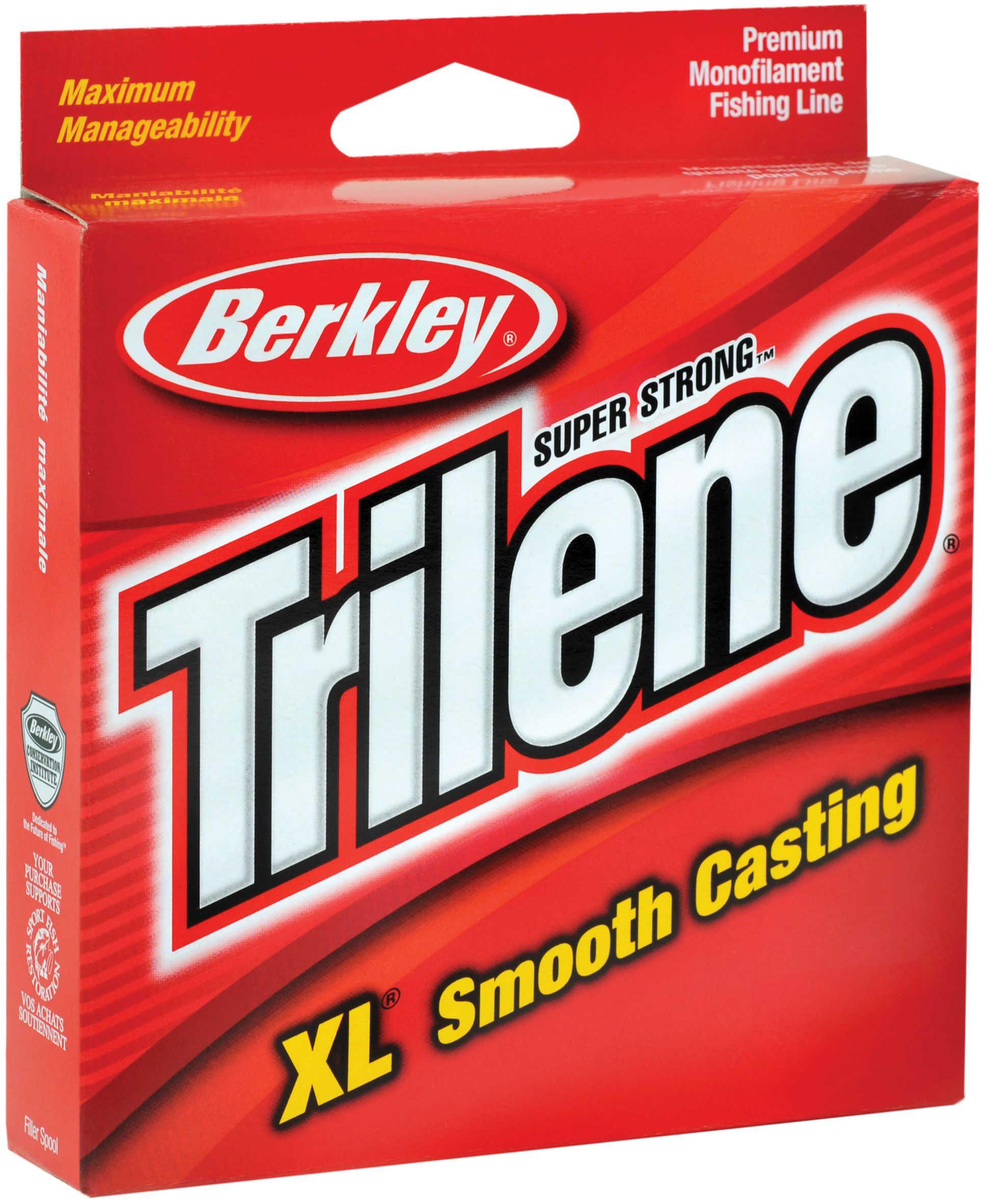 Berkley Trilene XL Line 110yd 8# Clear Md#: XLPS8-15