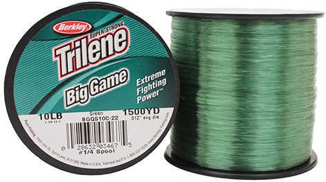 Berkley Big Game Line 875yd 15# Green Md#: BGQS15C-22