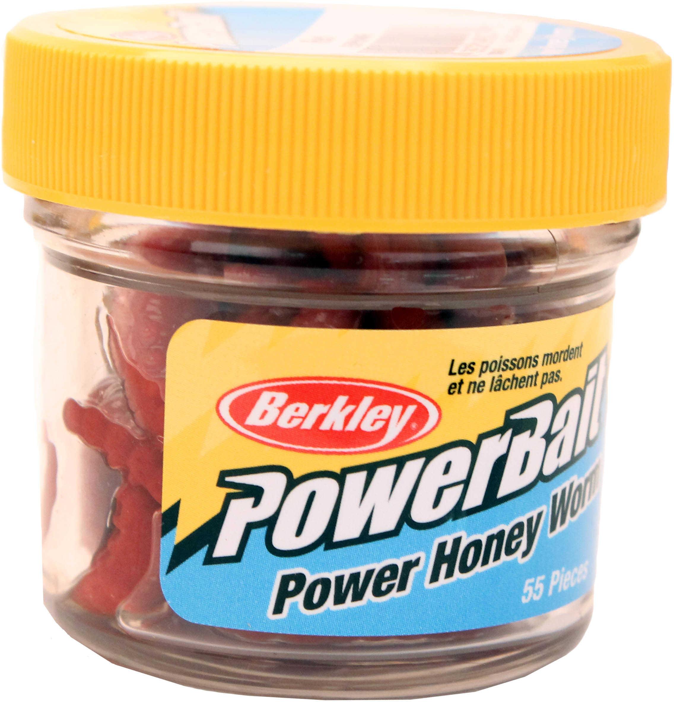 Berkley Power Honey Worm Jar Red Md#: EBPHWR
