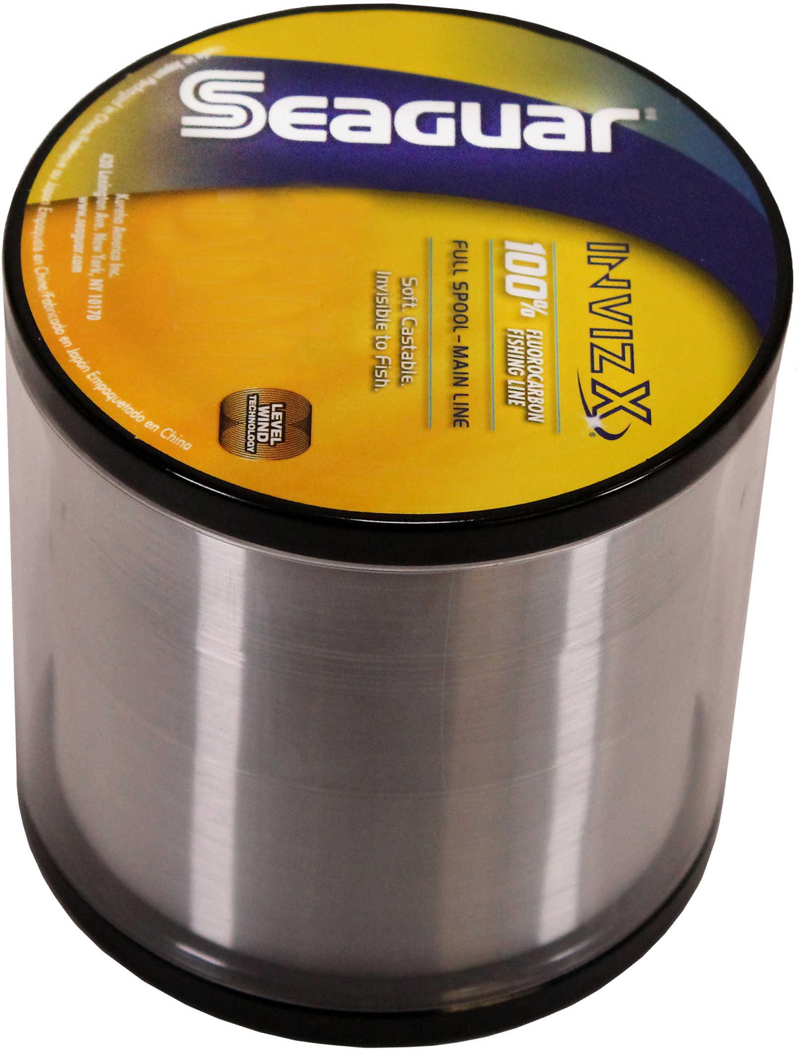 Seaguar / Kureha America Seaguar Inviz X Fluorcarbon Clear 1000yds 15lb Md#: 15VZ-1000