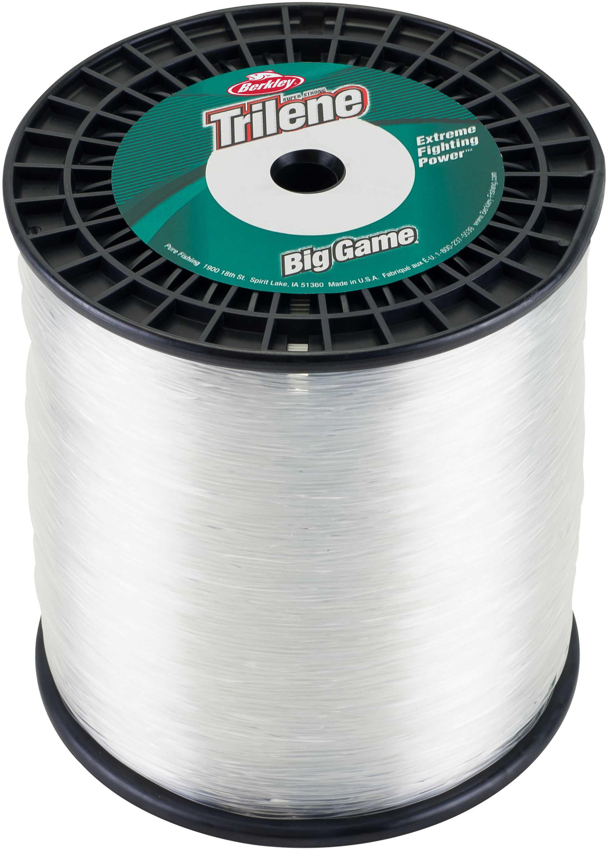 Berkley Big Game Line 3270yd 50# Clear Md#: BG3-50