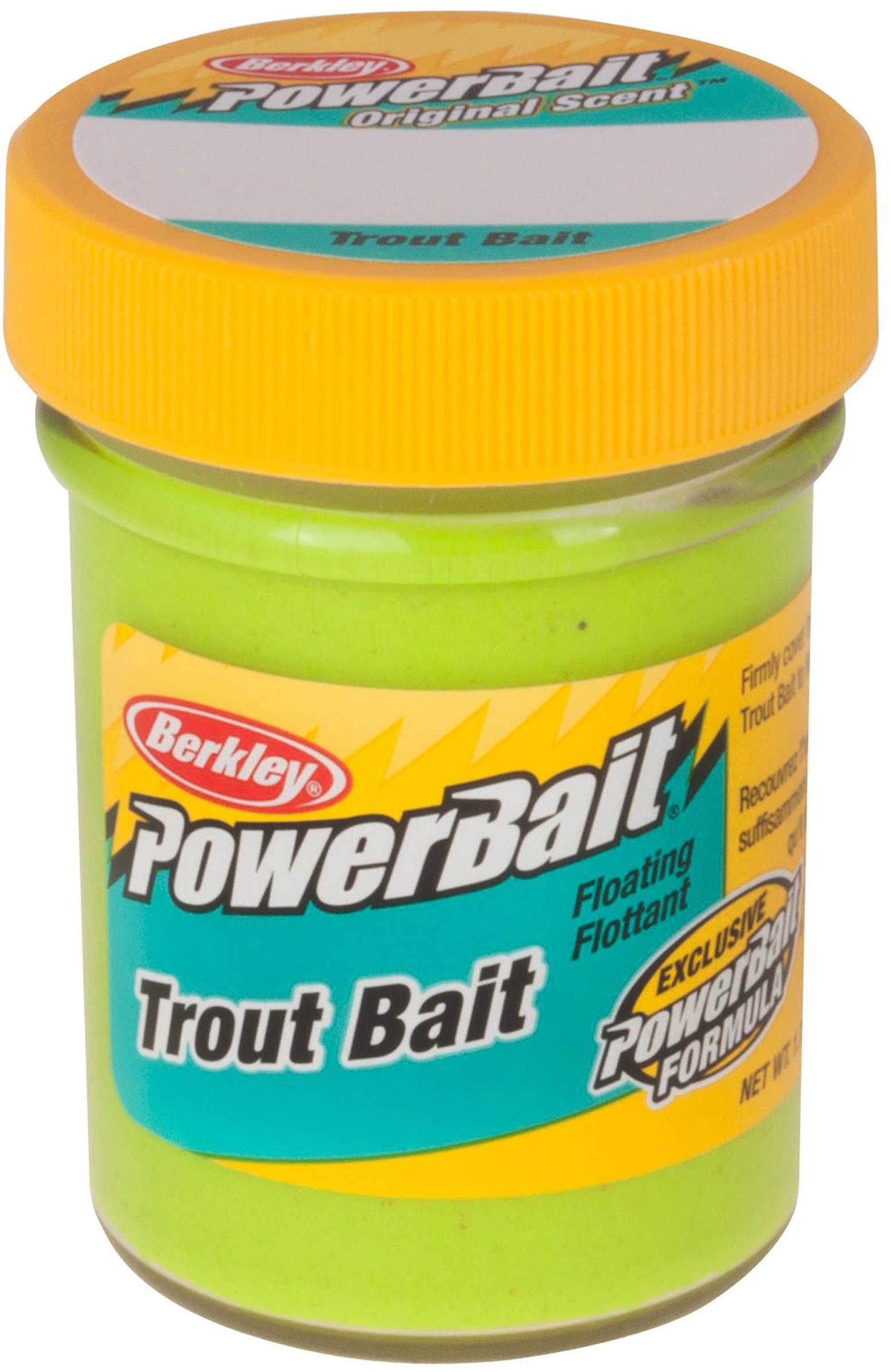Berkley Biodegradable Trout Bait 1.75 oz. Chartreuse Md#: TBC2