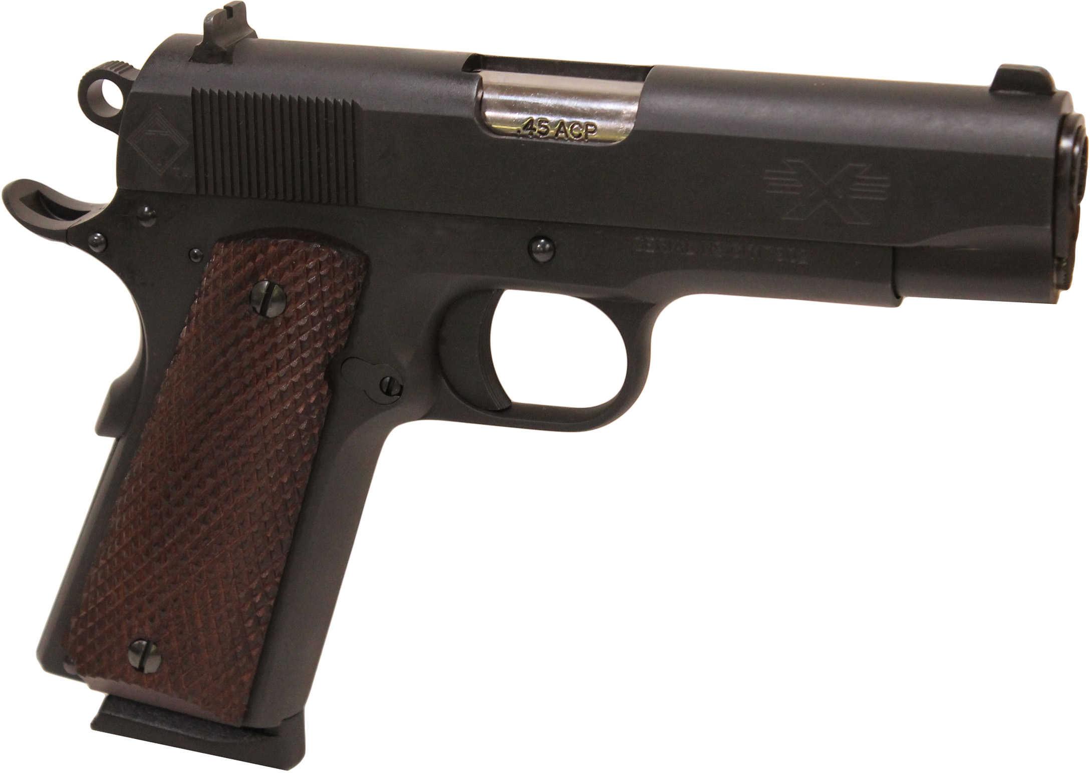 "American Tactical Imports FX45 1911 G1 45 ACP 4.25"" Barrel 8 Round Blued Steel Semi Automatic Pistol GFX45GI"