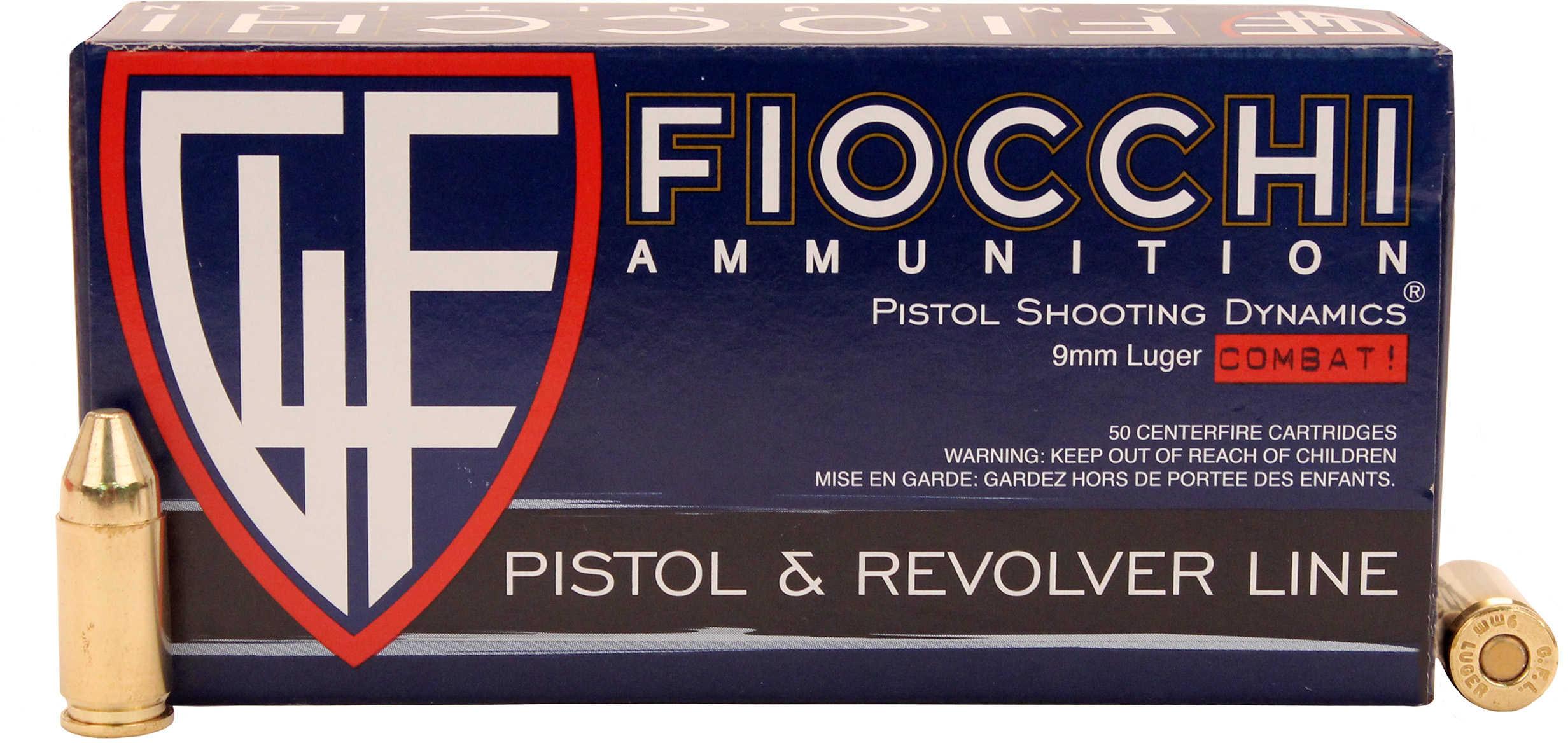 Fiocchi 9MM Luger 123 Grain Truncated Cone Full Metal Jacket Ammunition Md: 9APC