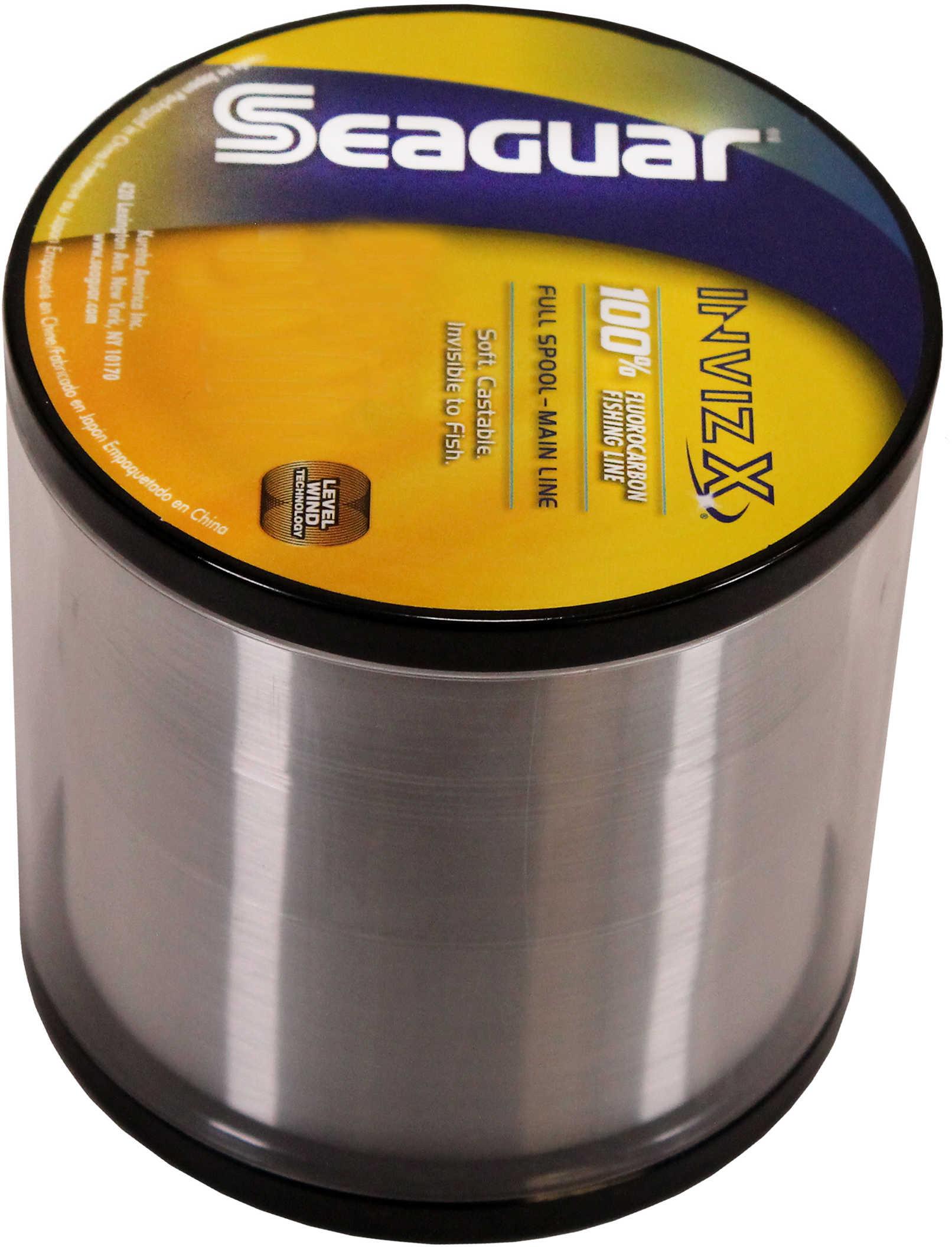 Seaguar / Kureha America Seaguar Inviz X Fluorcarbon Clear 1000yds 12lb Md#: 12VZ-1000