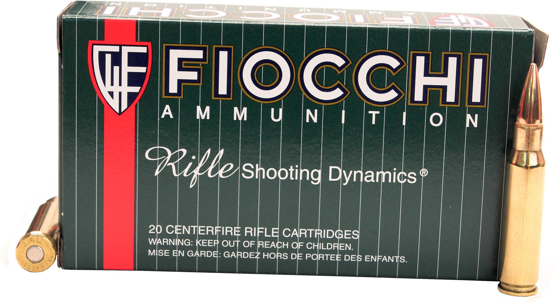 Fiocchi Ammunition Rifle 308WIN 150 Grain Full Metal Jacket Boat Tail 20 Round Box 308A