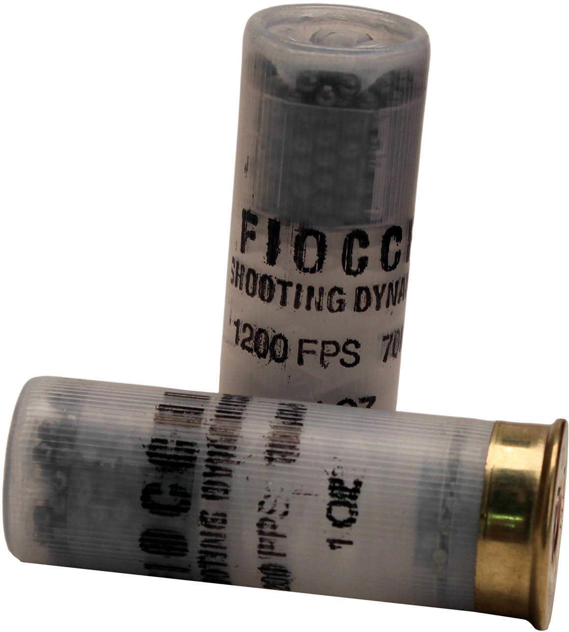 "Fiocchii Shooting Dynamics Clay Target Loads 12 gauge - 2 3/4"" long - 1 ounce Heavy Dynamic shot - 12 12SD1H75"