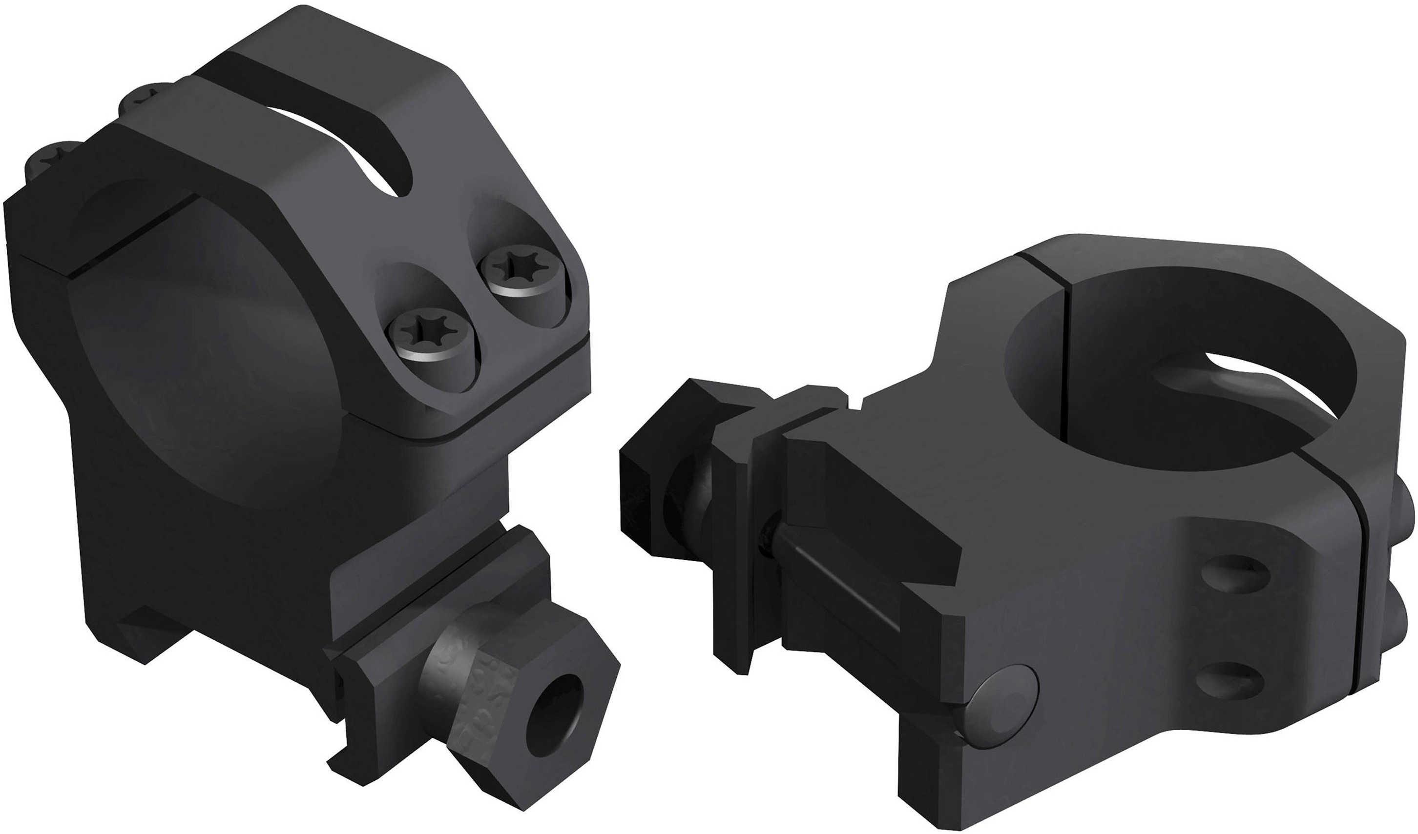 "Weaver Four Hole Skeletal Rings 1"" X-High - Matte - No strip/slip Torx screws - Rings incorporate 's 48362"
