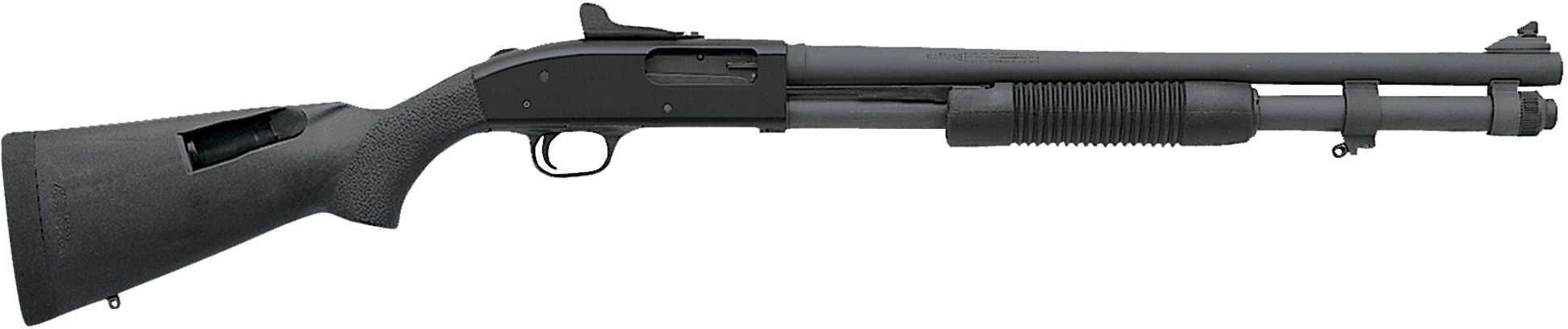 """Mossberg 590A1 12 Gauge Shotgun 20"""" Barrel Ghost Ring Parkerized Cylinder Bore 51668"""