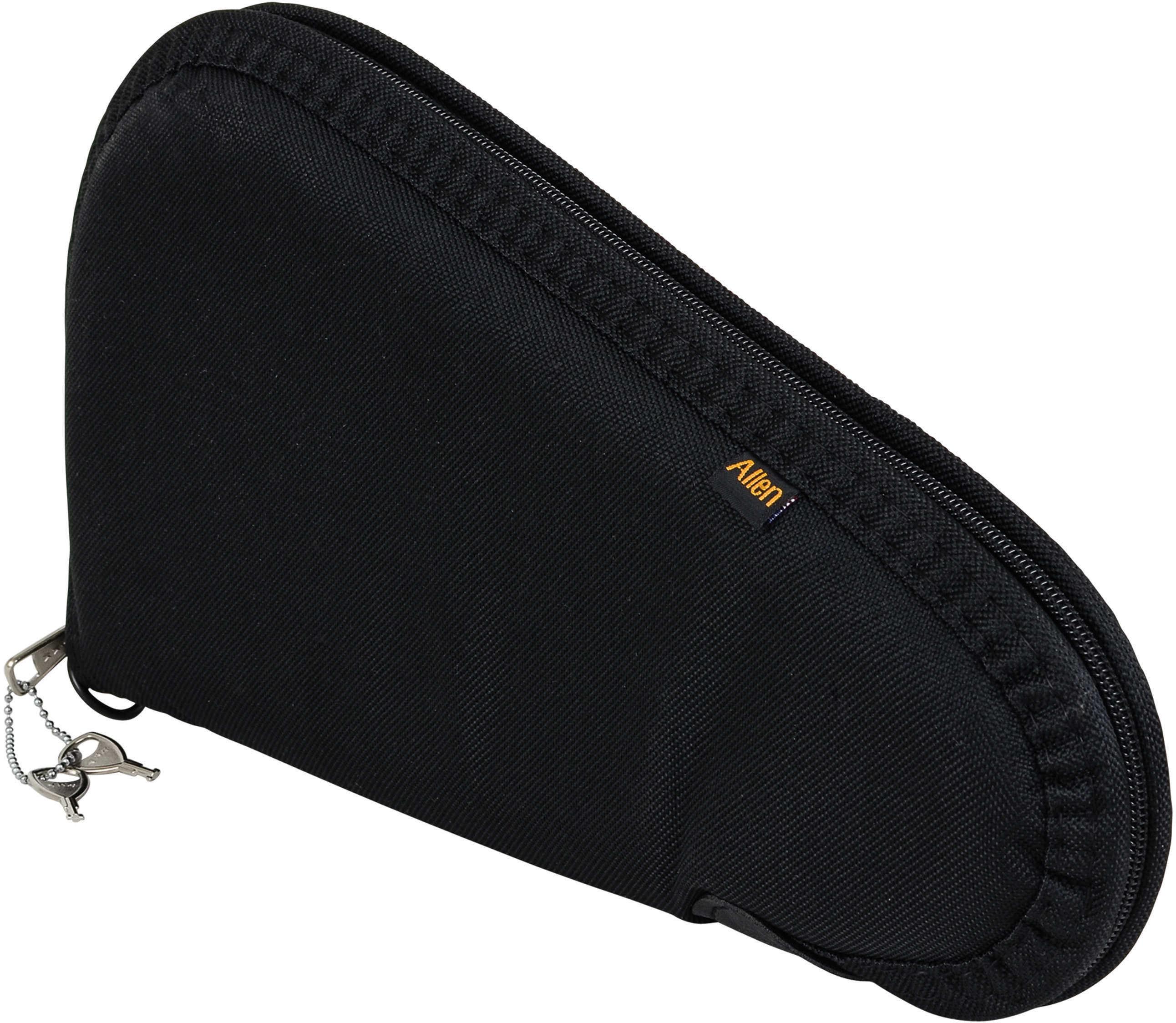 Allen Cases Allen Black Handgun Case with Lock Md: 7411