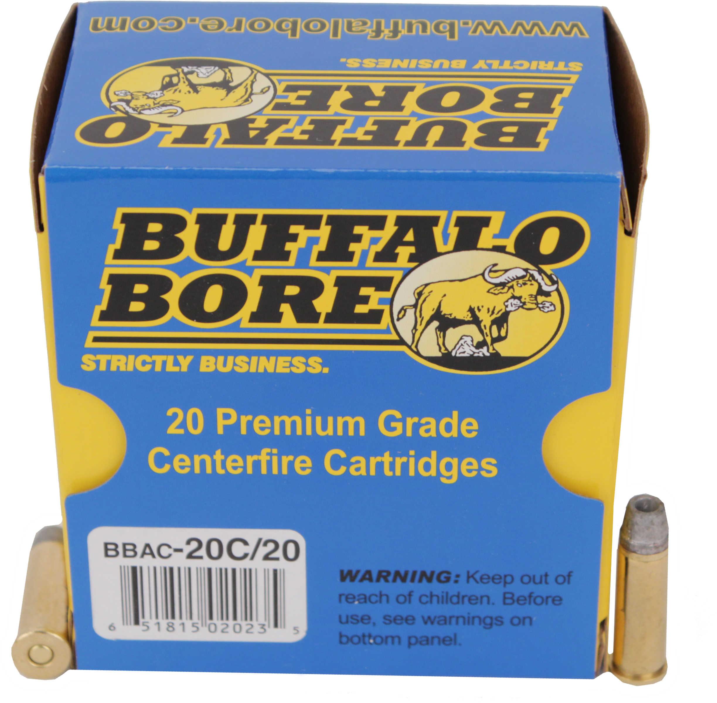 Buffalo Bore Ammunition Short Barrel Low Flash Heavy 38 Special 38 Special 158 Grain Soft Cast Lead Semi Wadcutter Hollow Po