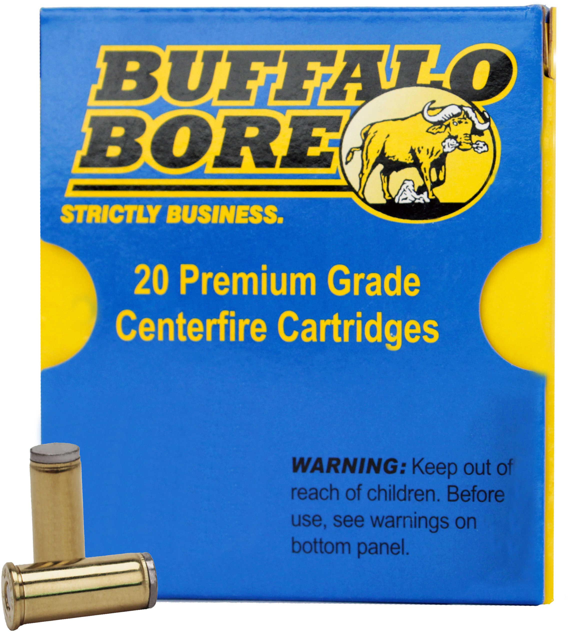 Buffalo Bore Ammunition Rifle 44 Special Hard Cast 200 Grains 20 Rounds Per Box 14E/20