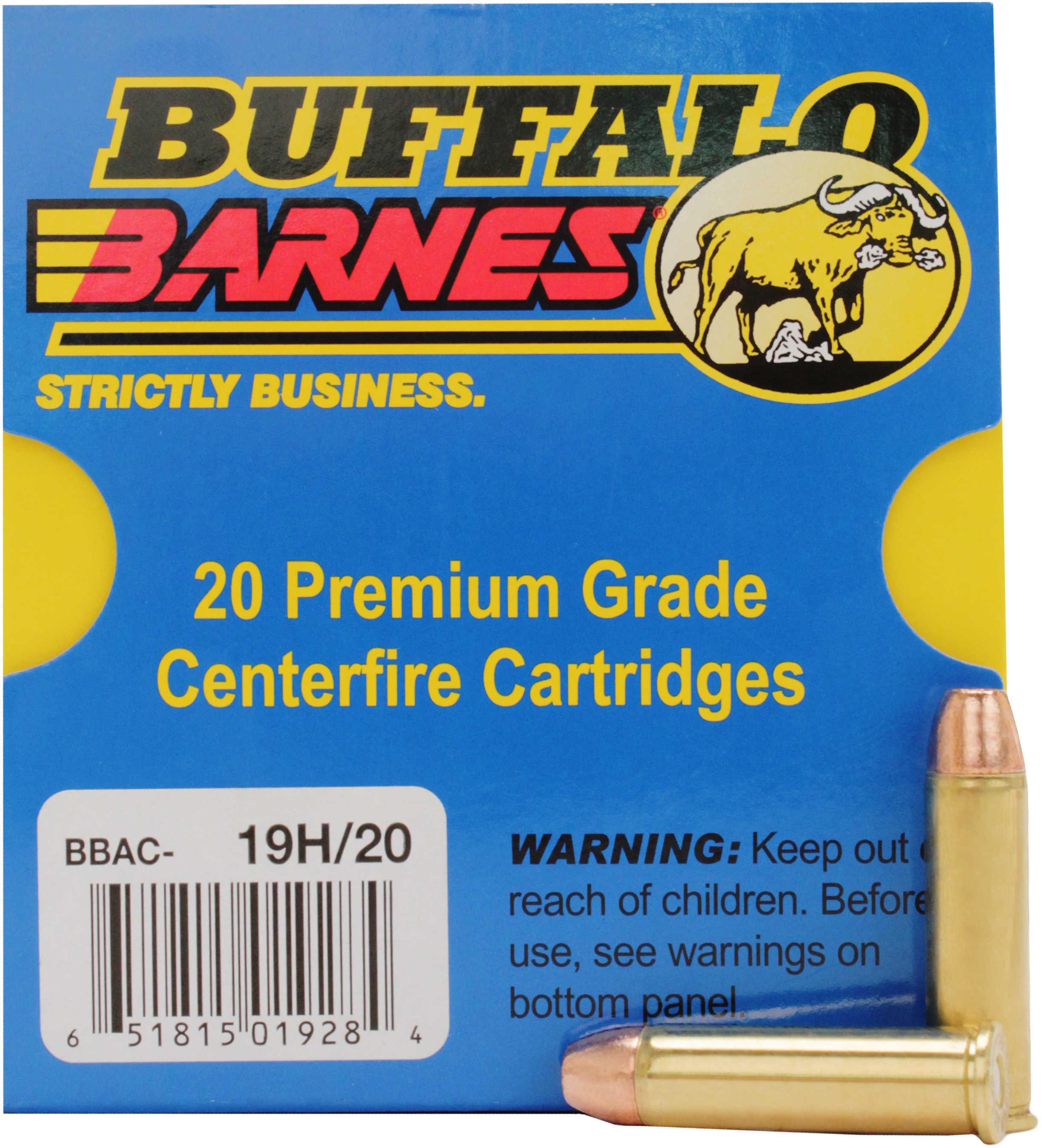 Buffalo Bore Ammunition Handgun 357 Rem Mag XPB 125 Grains 20 Rounds Per Box 19H/20