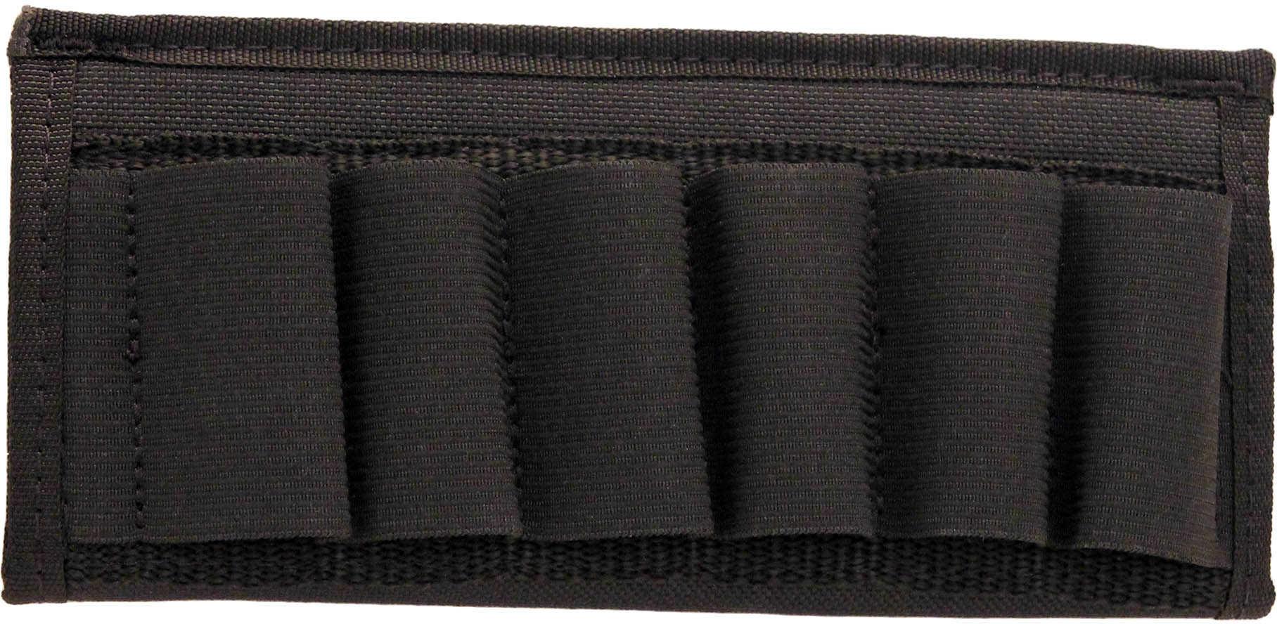 Grovtec USA Inc. Grovtec US Inc Cartridge Slide Holder Any Shotgun Ammunition Black Elastic/Nylon GTAC87