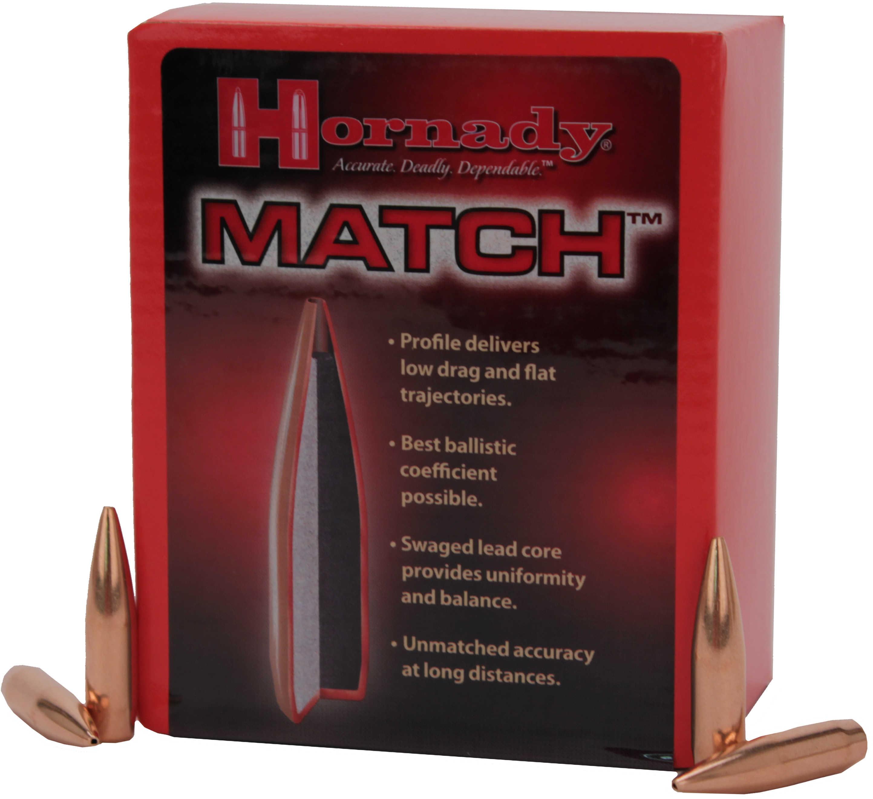 Hornady Bullet .308 195 Bthp Mtch 100 3095