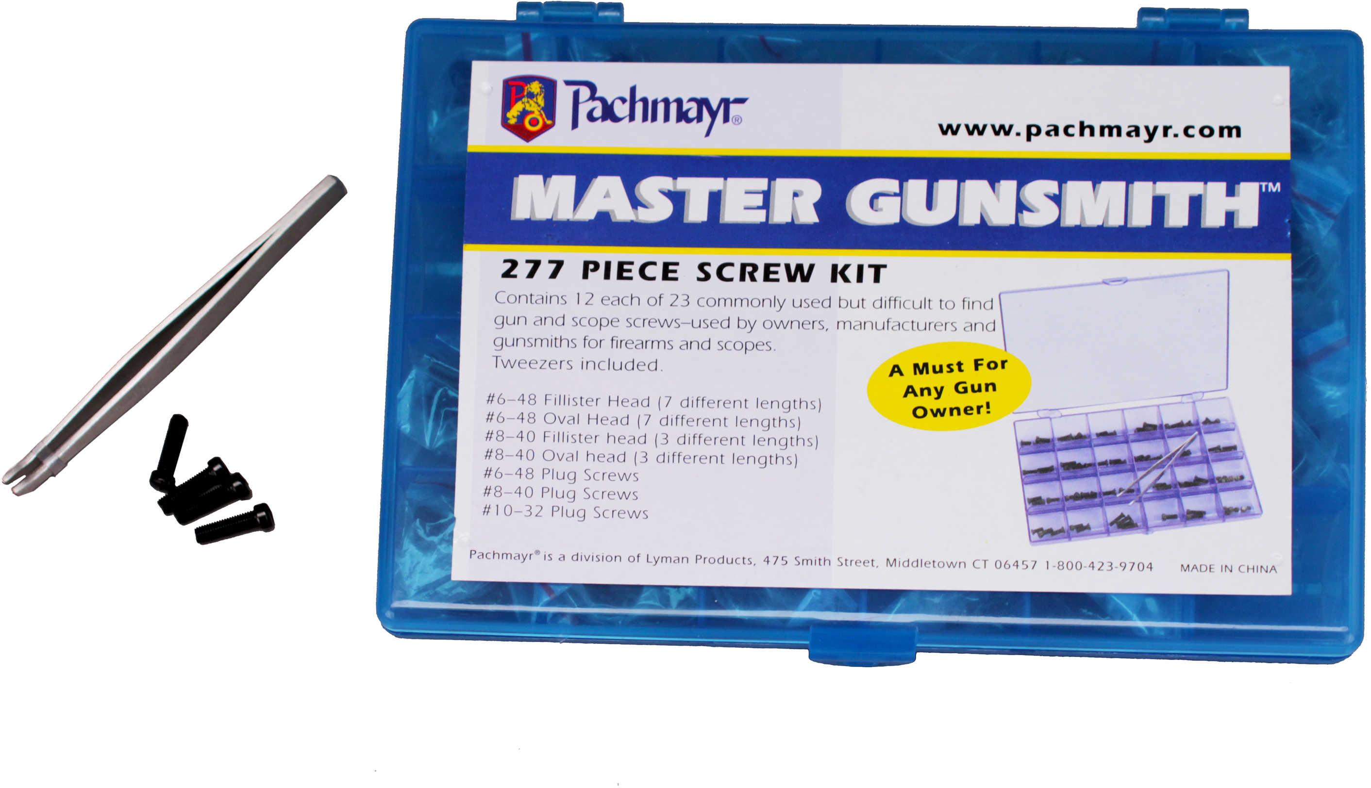 Pachmayr 277 Piece Screw Kit Md: 03054