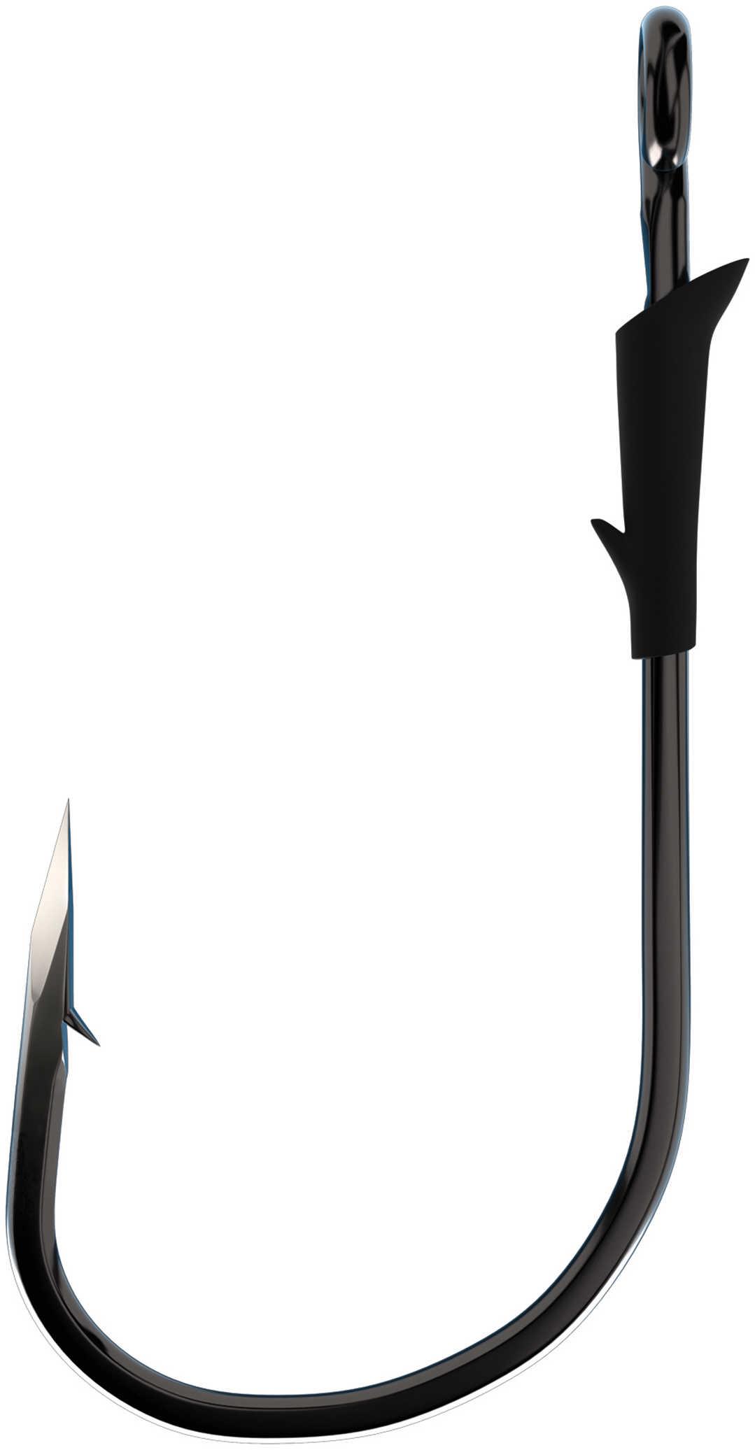 Eagle Claw Fishing Tackle Trokar Flippin Hook Platinum Black 4Pk 6/0 Md#: K130-6/0