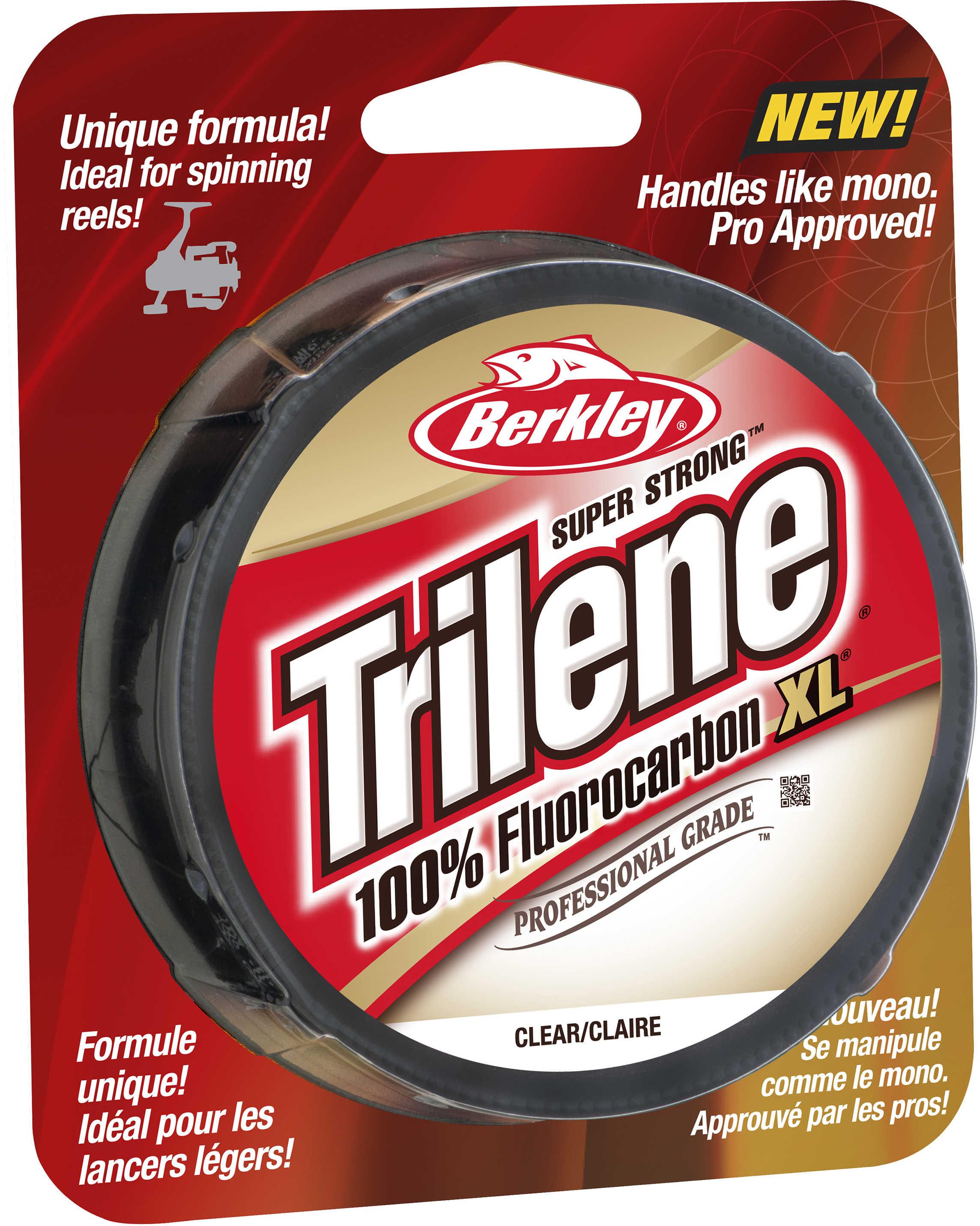 Berkley Trilene Fluorocarbon XL Professional Grade Filler Spool 6 lb, 200 Yards , Clear Md: 1291906