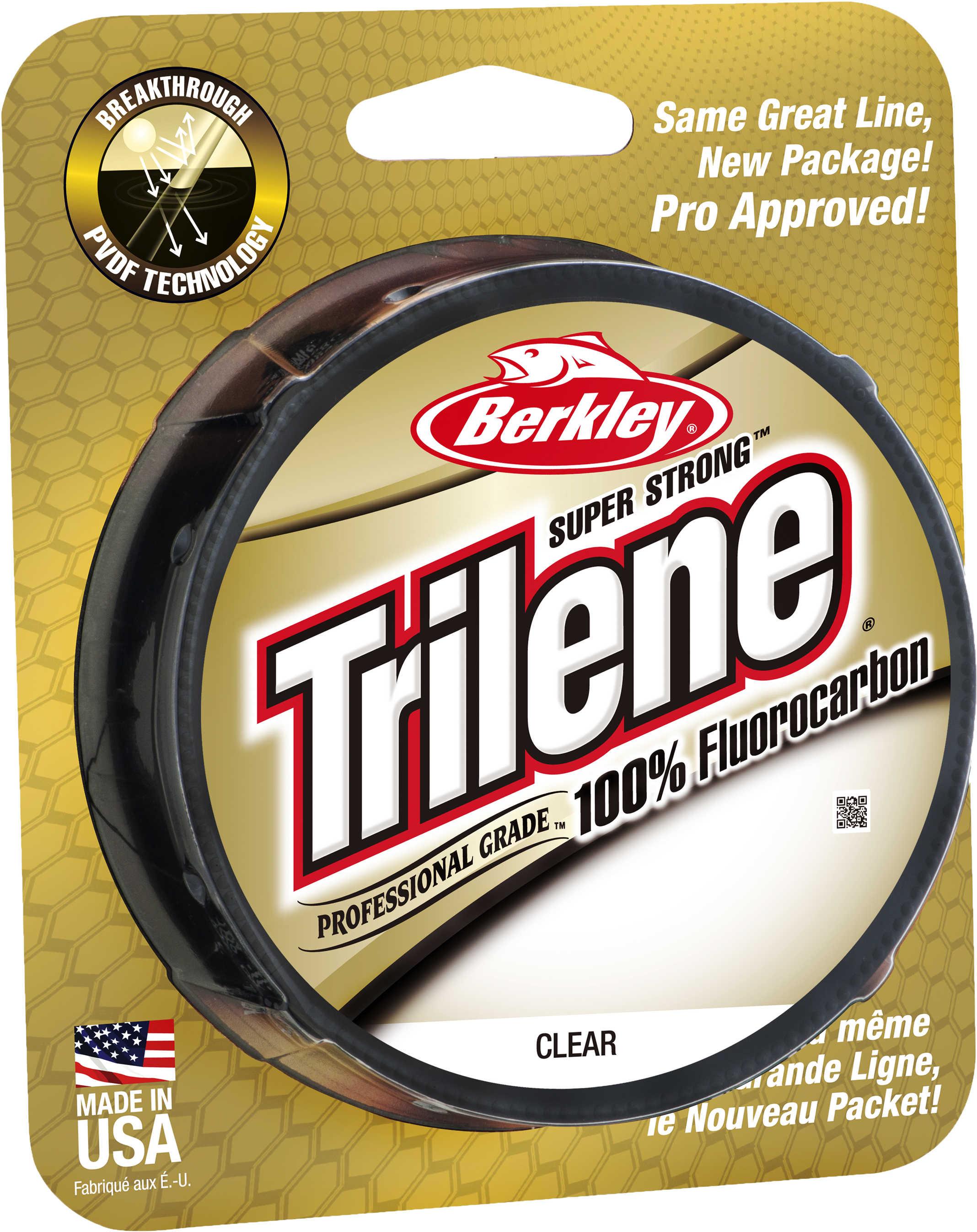 Berkley Trilene Fluorocarbon Professional Grade Filler Spool Line 20 lb, 200 Yards , Clear Md: 1313947