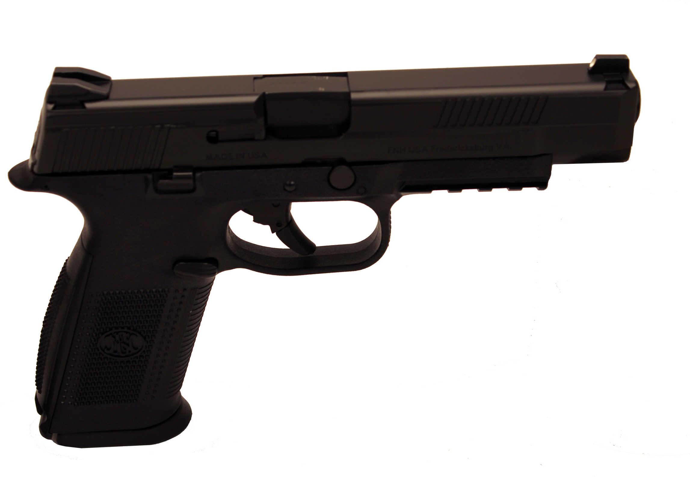 "FNH USA FNS-9L 9mm Luger 5"" Barrel 17 Round Black Semi Automatic Pistol 66725"