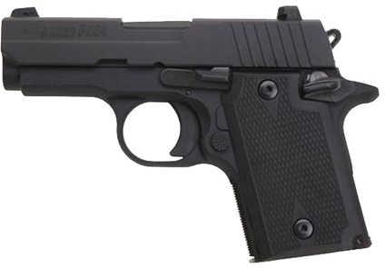"Sig Sauer P938 9mm Luger 3"" Barrel 6 Round Black Nitron Night Sights Fluted Semi Automatic Pistol 9389BSSAMBI"