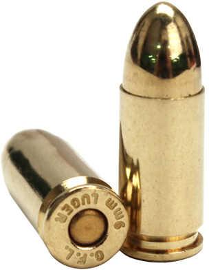 Fiocchi Ammunition Centerfire Pistol 9MM 124 Grain Full Metal Jacket 50 Round Box 9APB
