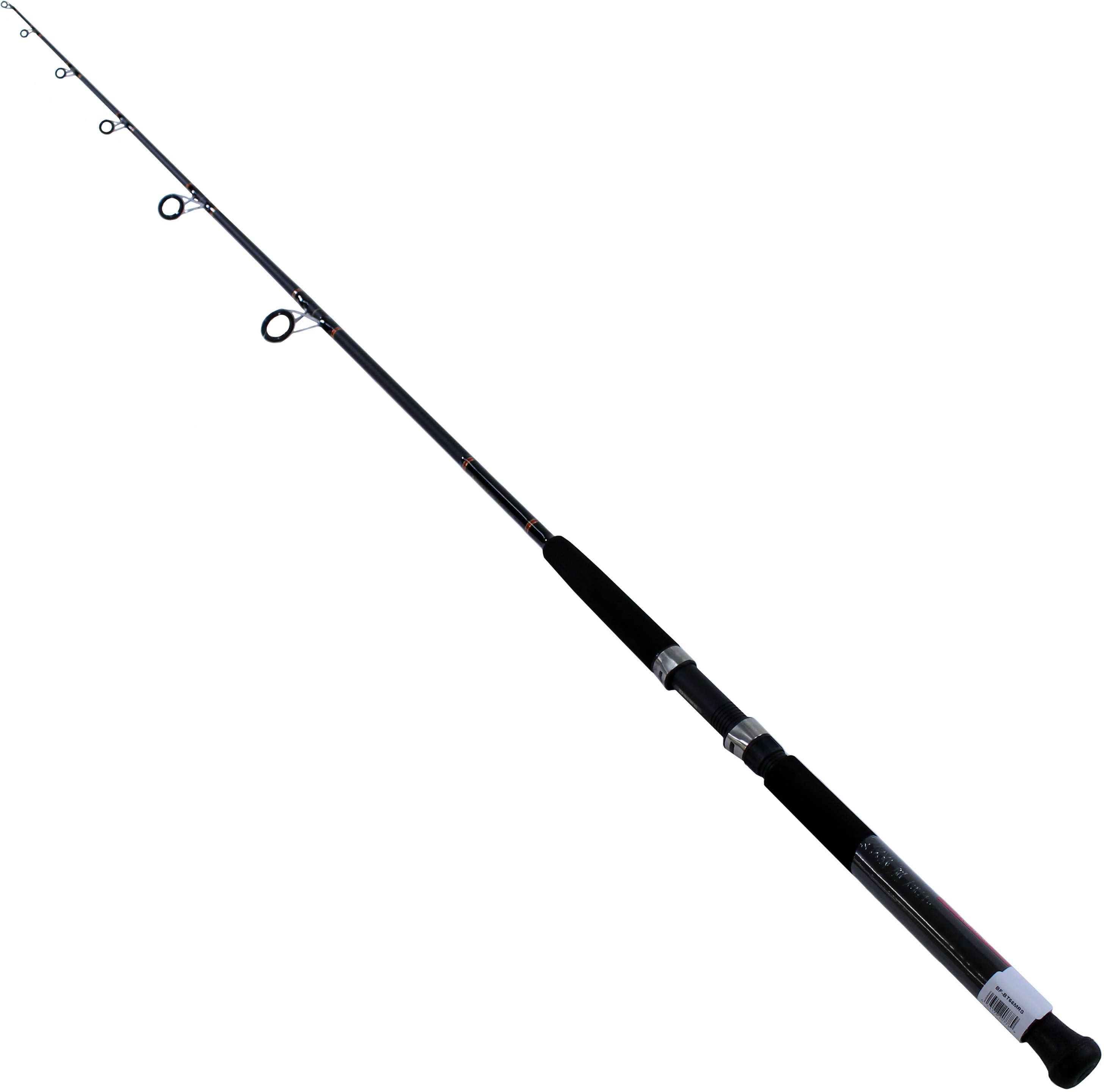"Daiwa Beefstick BT Saltwater Boat Rod Spinning, 6'6"" Md: Spinning Rod BFBT66MRS"