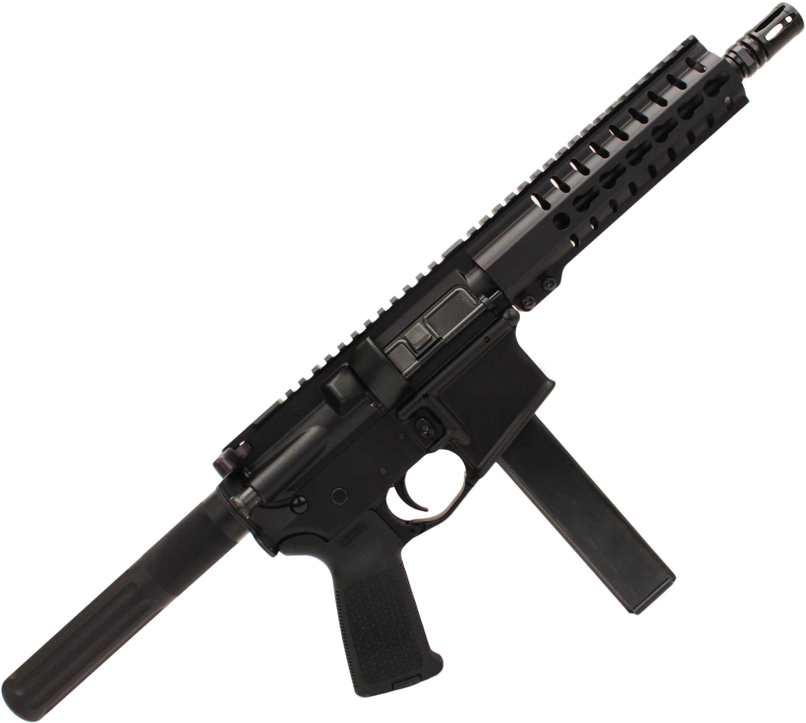 "CMMG, Inc CMMG MK4 PDW 9mm Luger 8.2"" Barrel 30 Round Magpul Black Semi Automatic Pistol 90A3BAD"