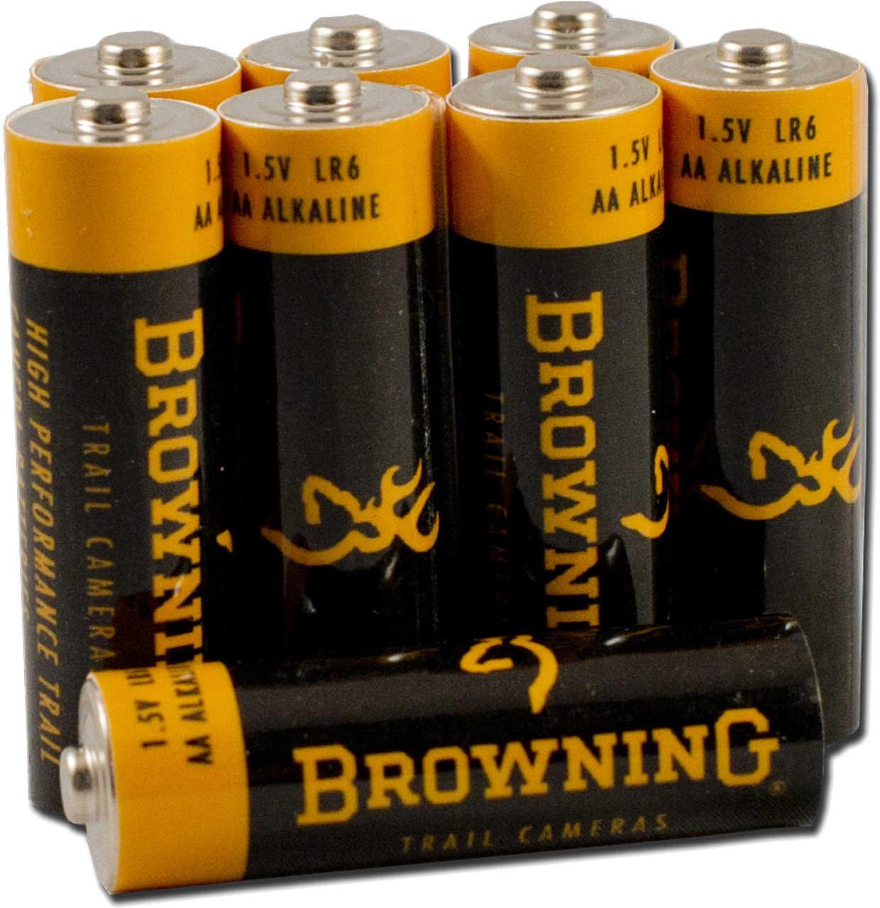 Browning Trail Cameras Browning Trail Camera AA Alkaline Battery Md: BTC 8AA
