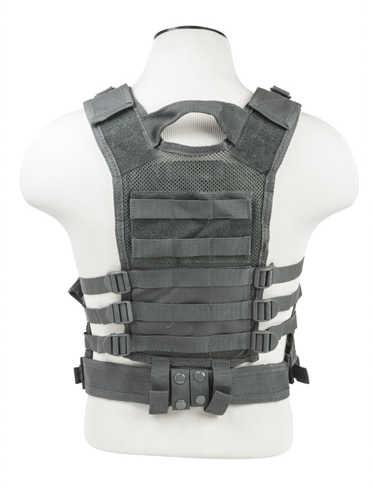 NcStar Tactical Vest Childrens, Urban Gray Md: CTVC2916U