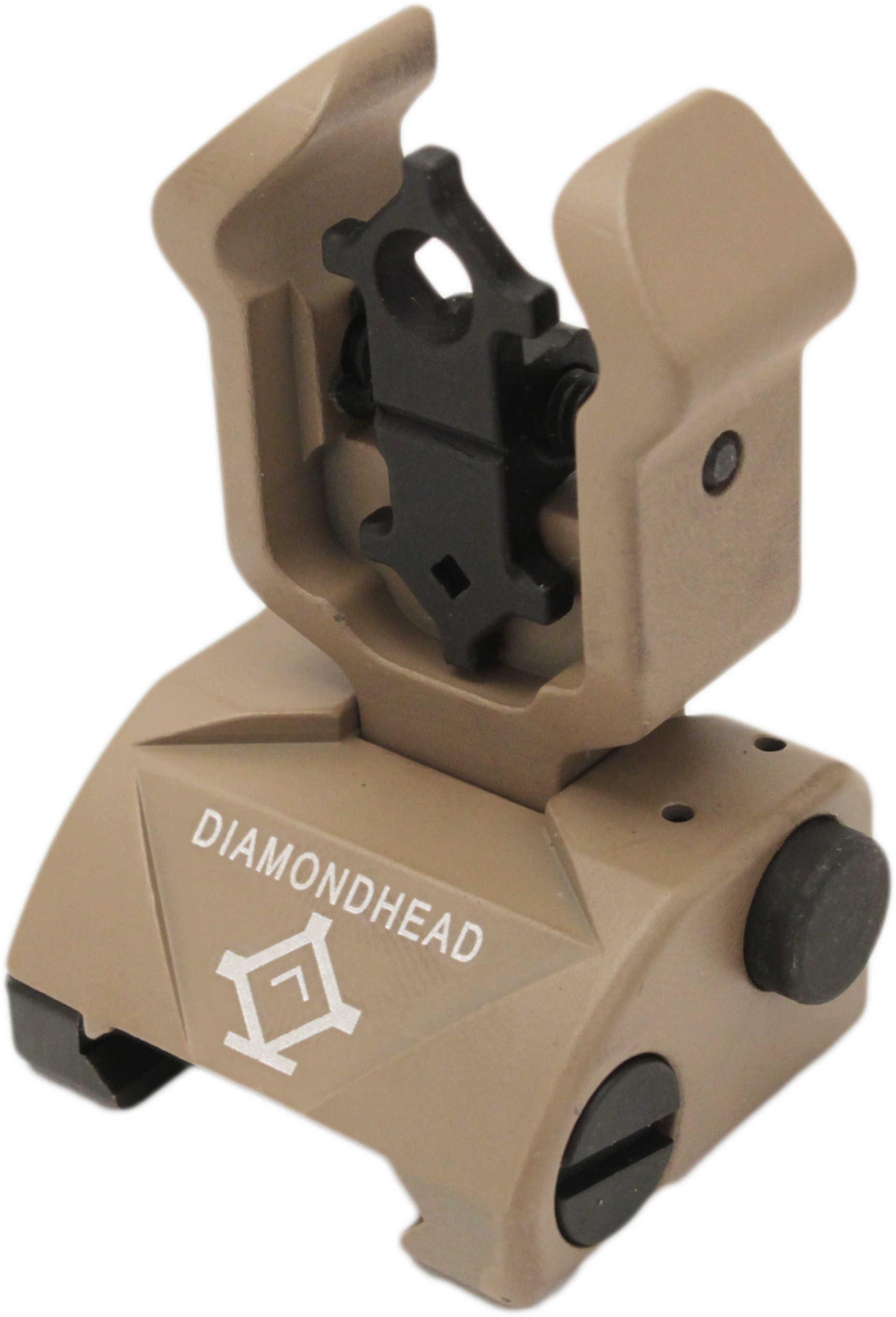 Diamondhead Diamond Sight Rear Sight, Gen 2 Flat Dark Earth Md: 1102