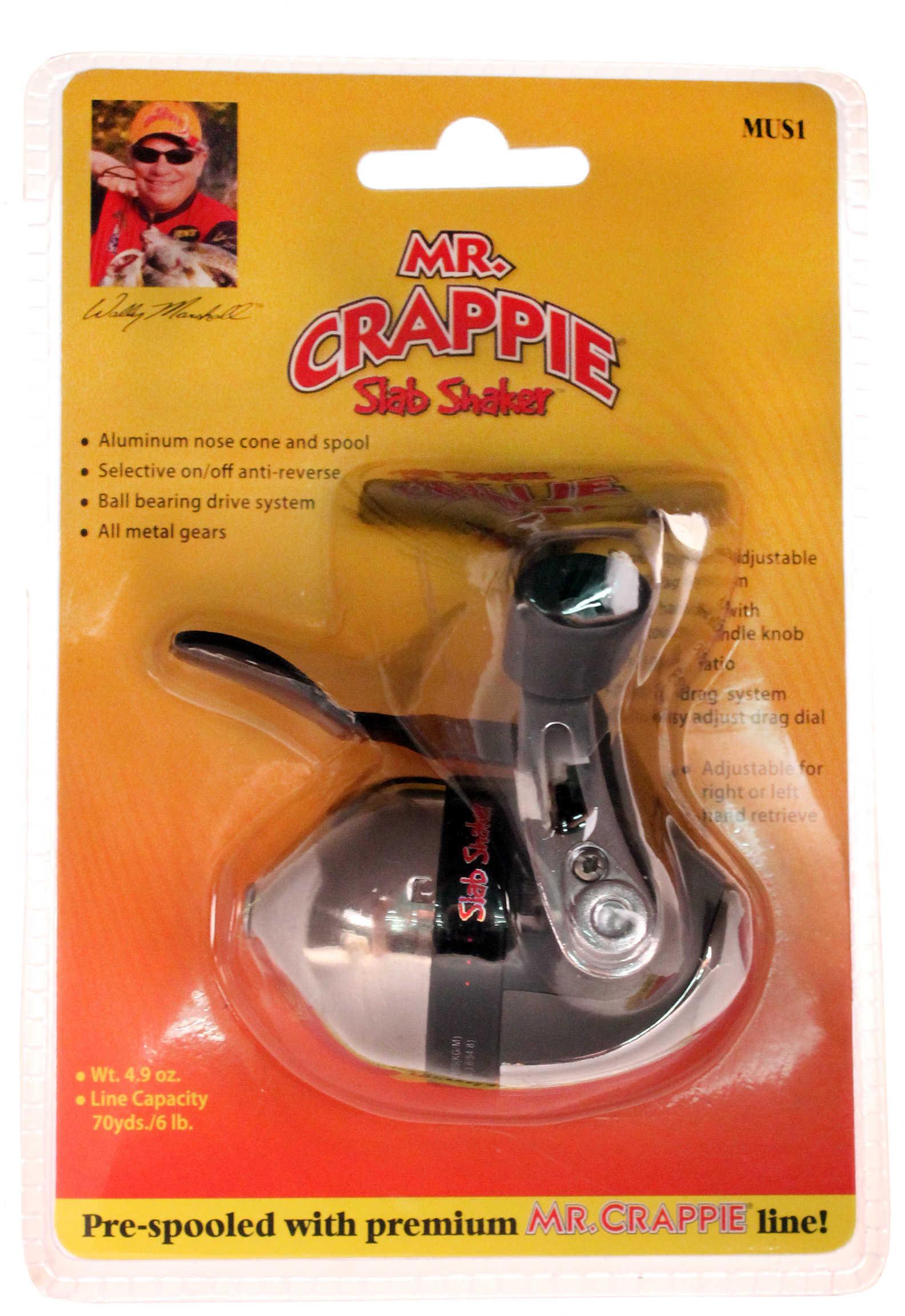Lew's Mr Crappie Slab Shaker Reel Under Spincast 70/6# MUS1