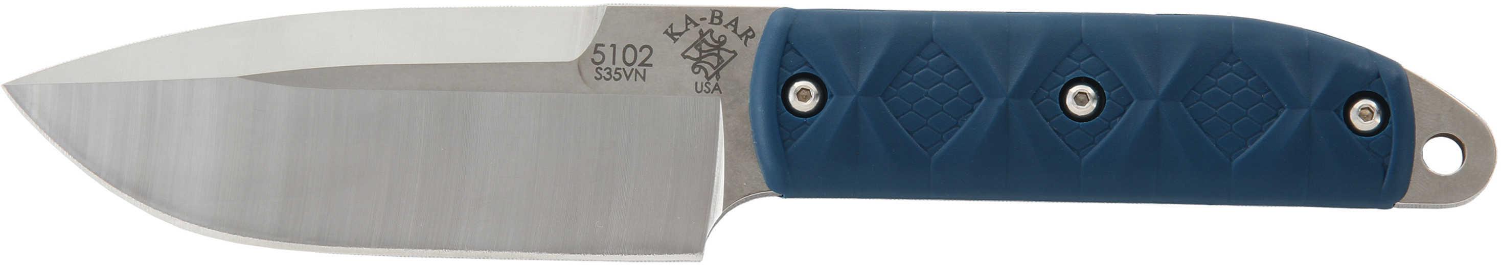 "Ka-Bar 5102 Snody Big Boss 4.56"" S35VN Stainless Steel Fixed Blade Zytel Handle Knife"