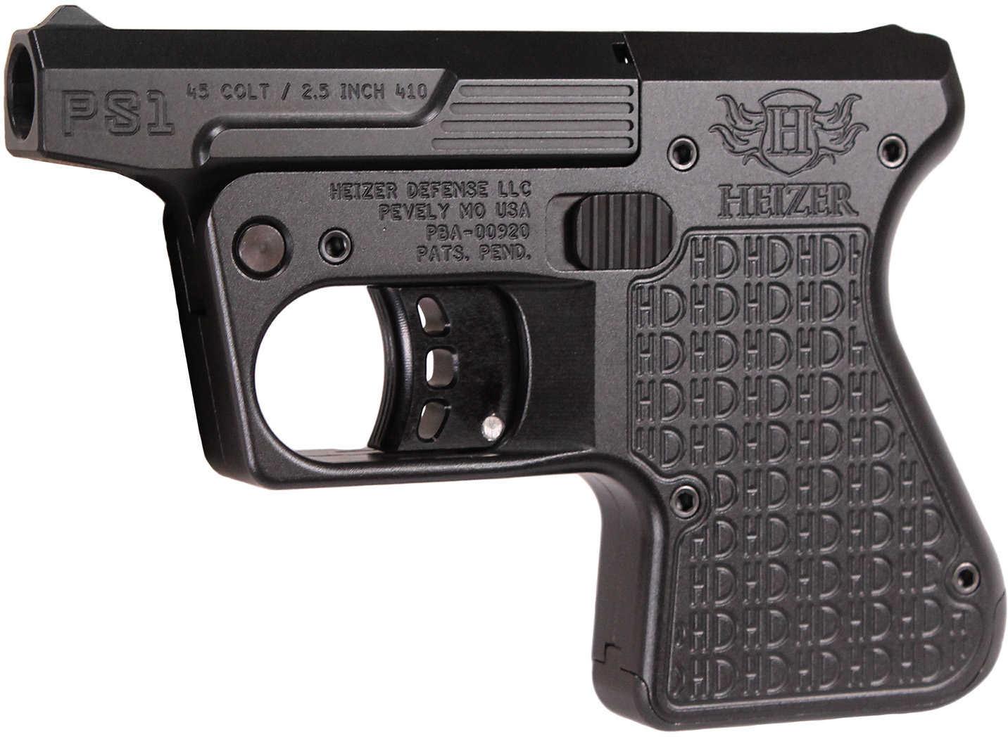 Heizer Defense PS1 Pocket Shotgun 45 Colt/410 Gauge 3 5