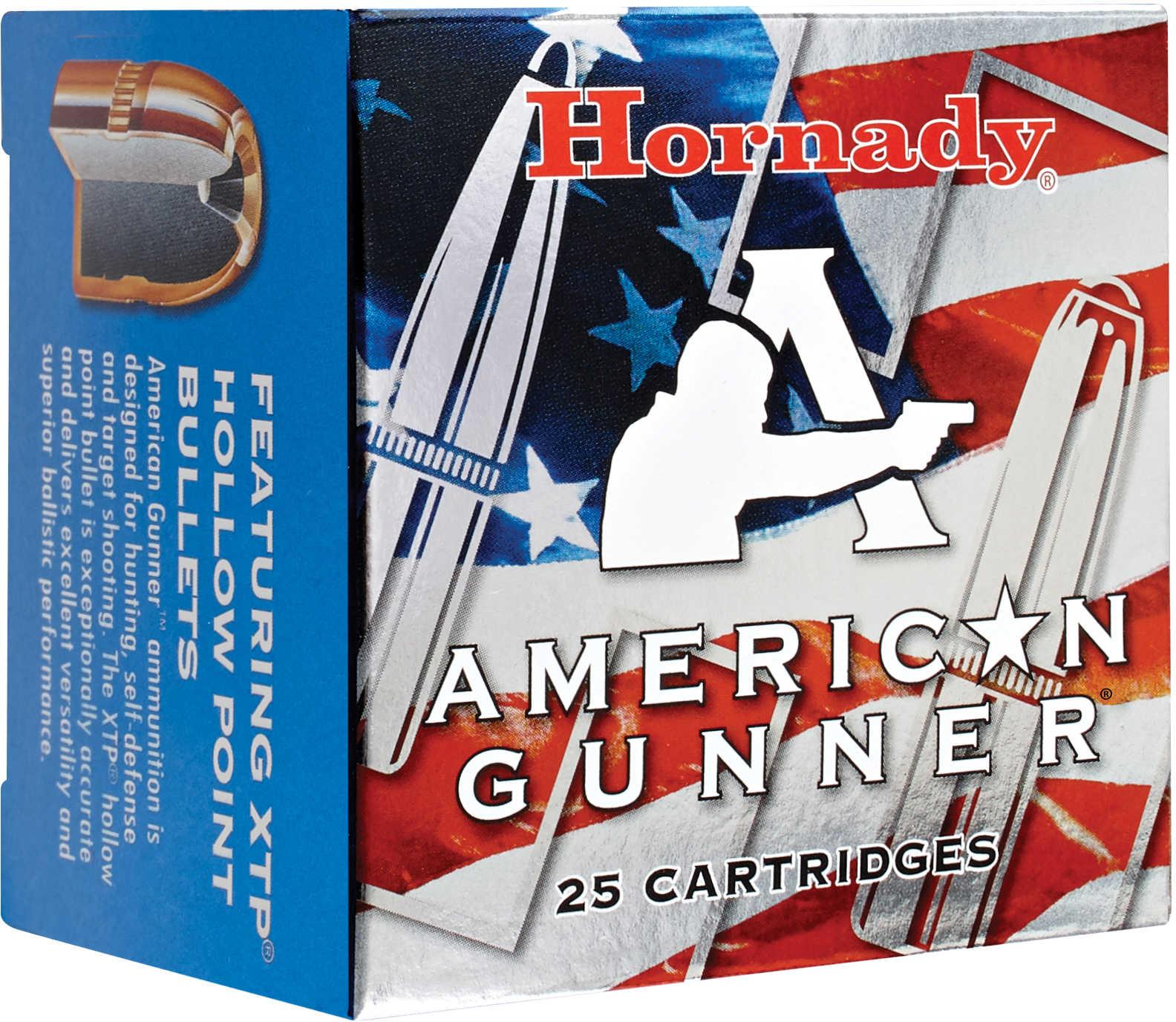 Hornady 9mm Luger +P, 124 Gr, XTP, American Gunner (Per 25) Md: 90224