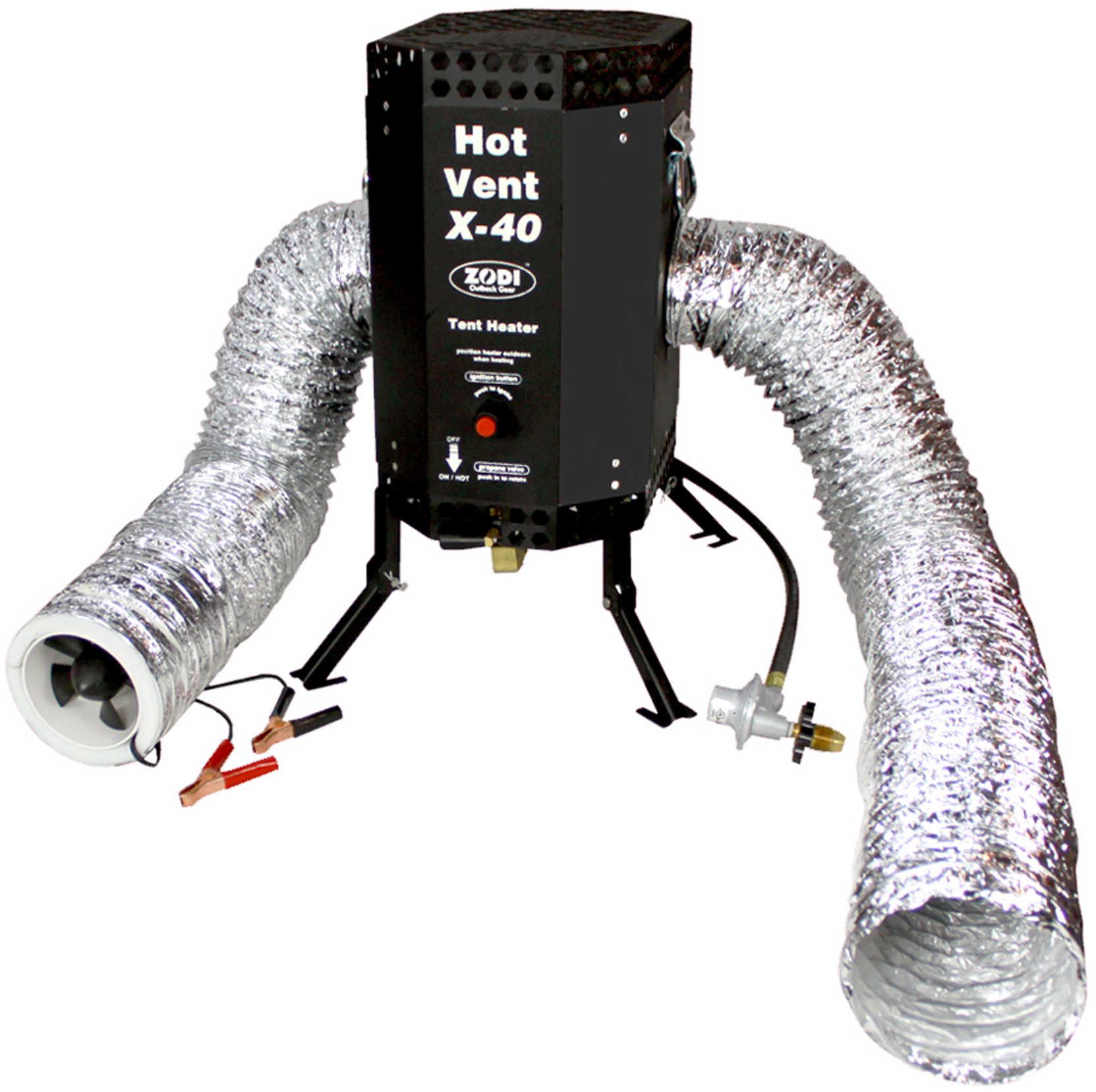 Zodi Outback Gear Zodi X-40 Hot Vent Tent Heater Md: 5148