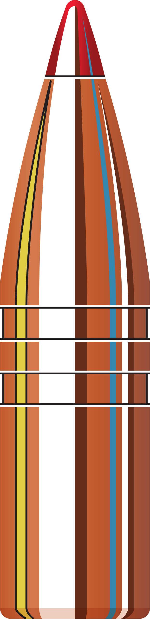 "Hornady 270 Caliber Bullets .277"" 110 Grains GMX (Per 50) Md: 27190"